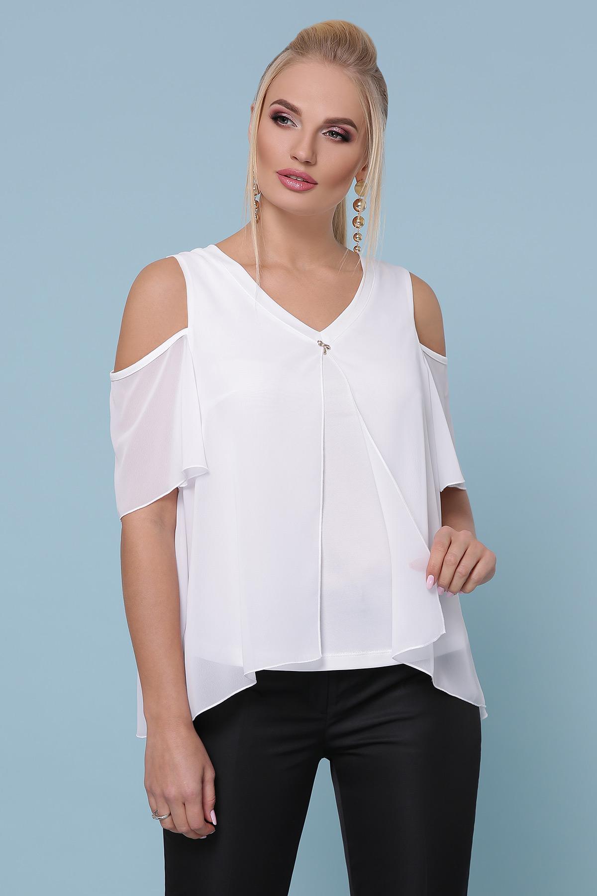блуза Анаит-Б к/р. Цвет: белый