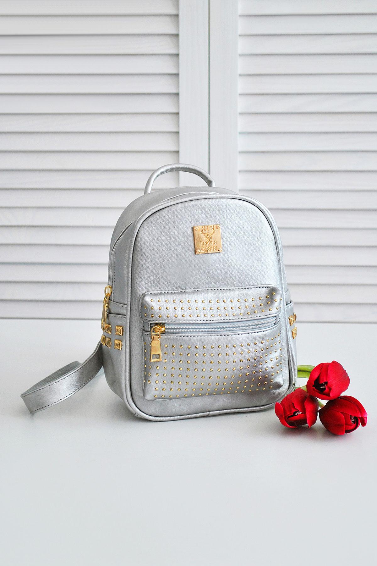 5605b4c7d87d маленький рюкзак цвета металлик. Рюкзак 610. Цвет: металлик