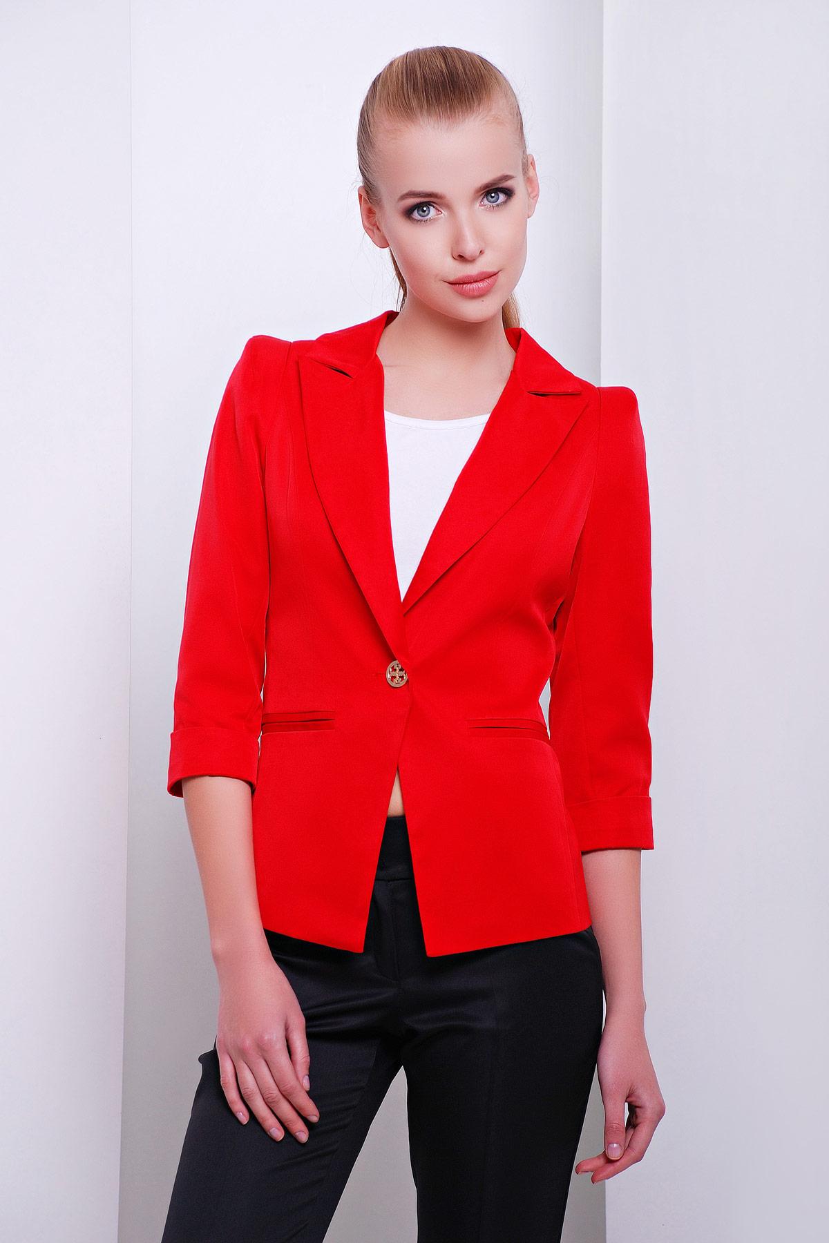 2d2aa703799 Купить женский бежевый пиджак на одной пуговице