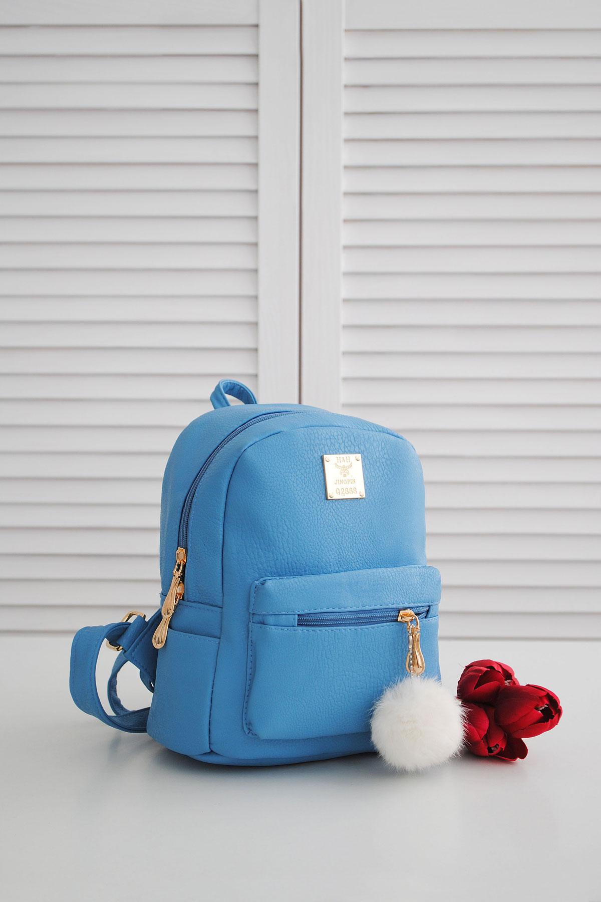 Рюкзак 003. Цвет: голубой 2
