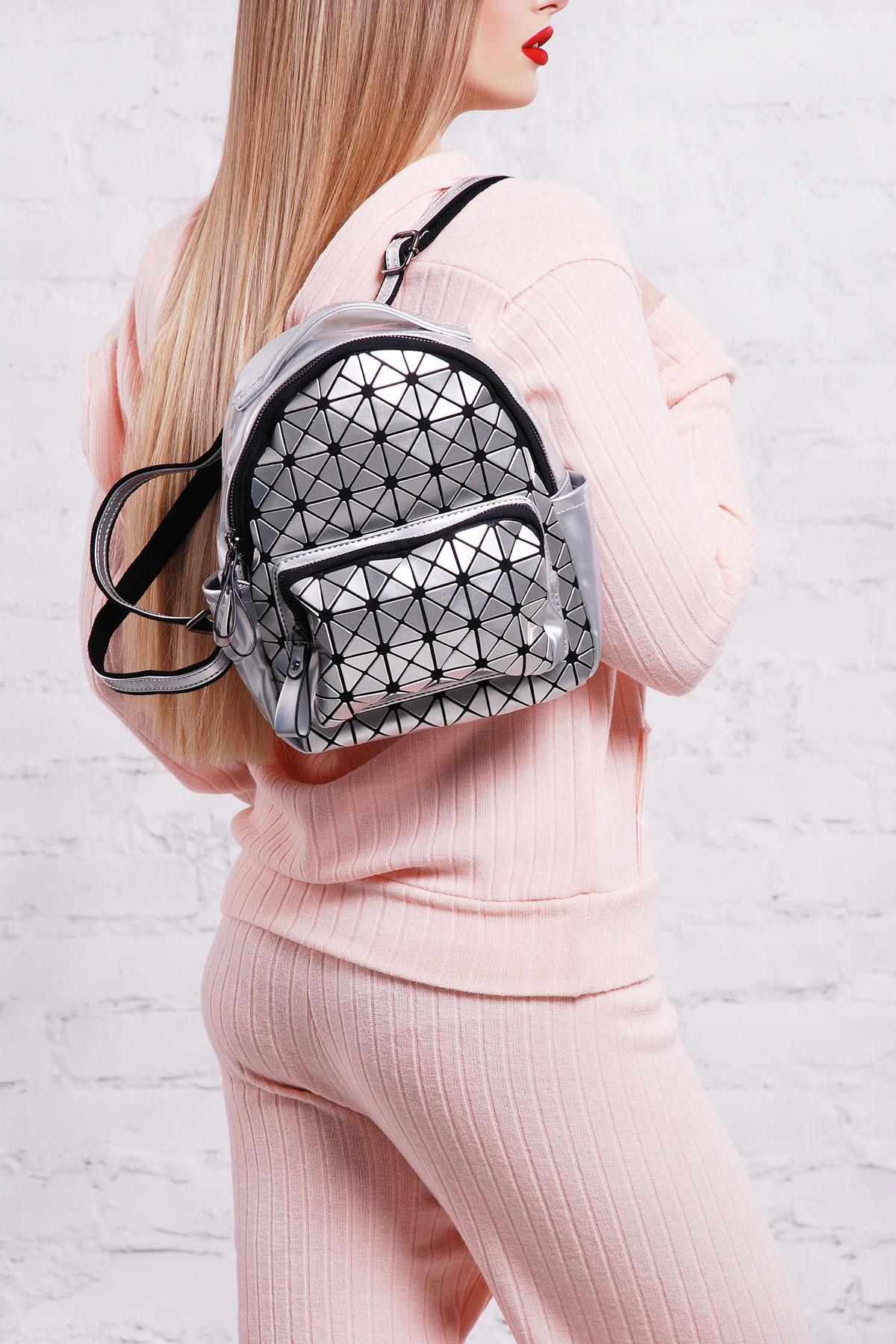 7f533f9a5cd4 Цвет: серебро купить · женский лакированный рюкзак цвета молоко. Рюкзак  26311. Цвет: серебро цена