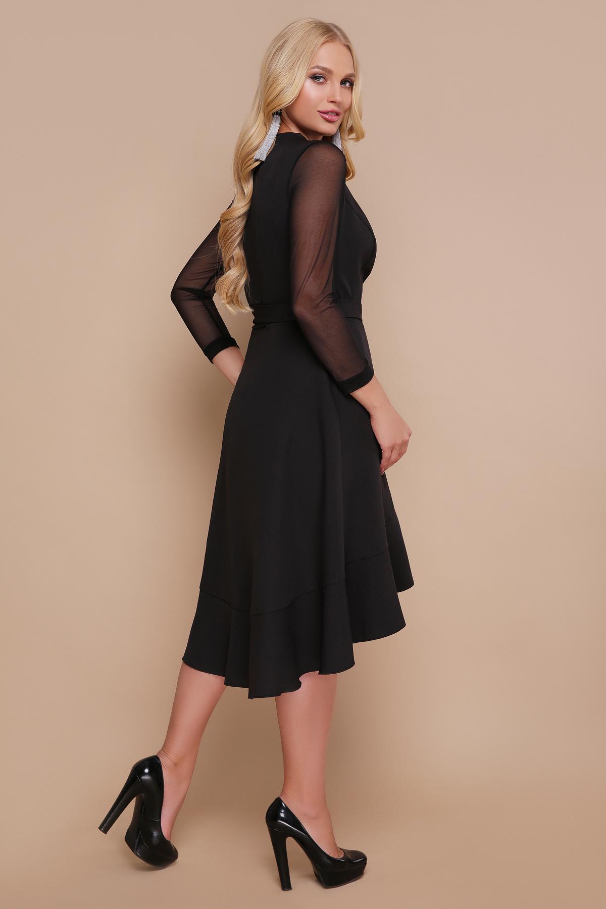 7abf90b9291 Красное платье с воланом по низу Алеся-Б д р - купить в Украине