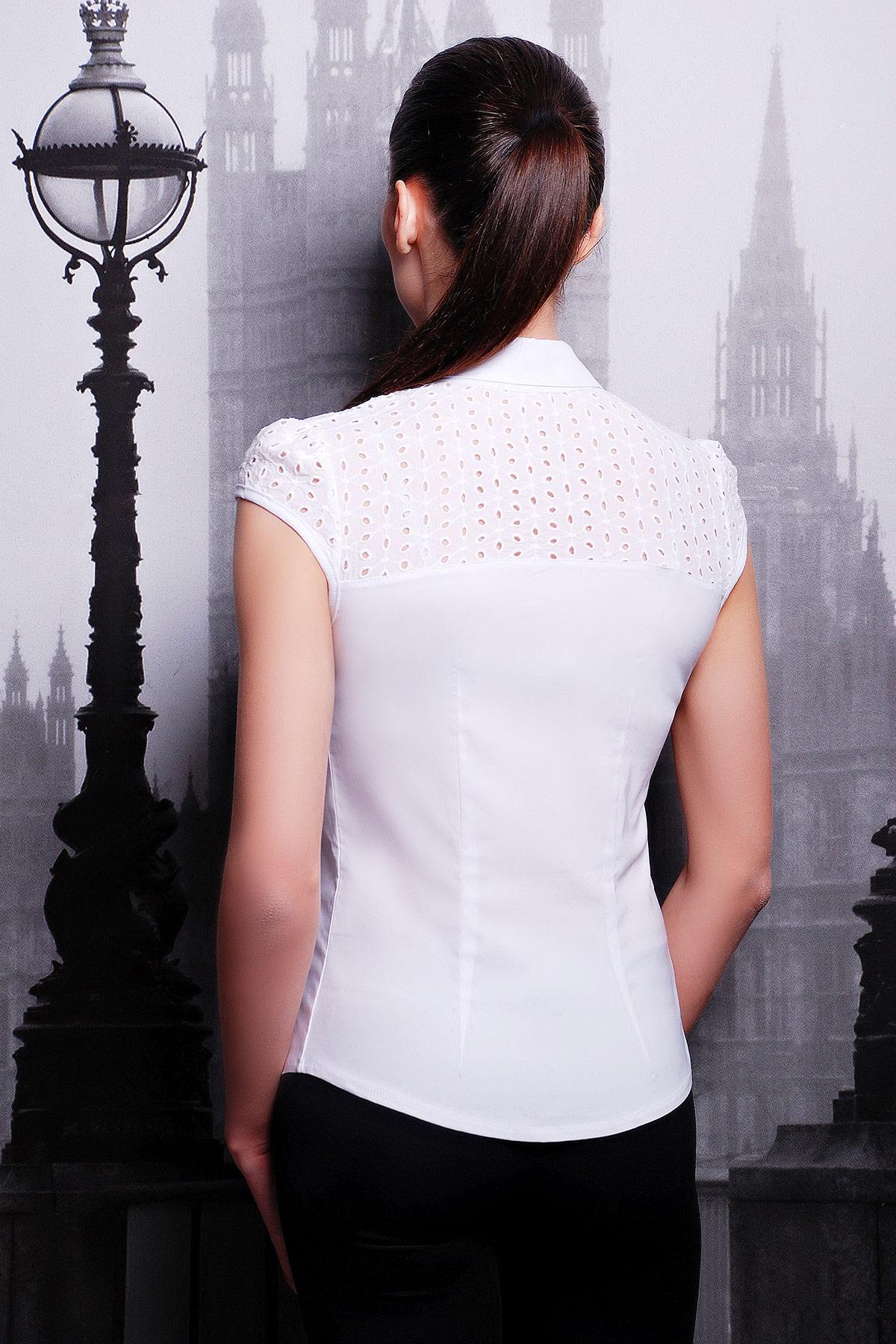 Летняя блузка с рукавами купить
