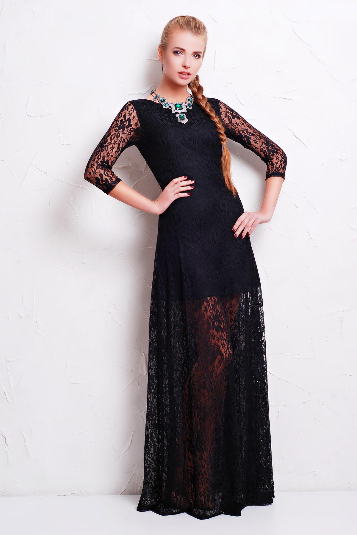 Фото платьев с длинным р