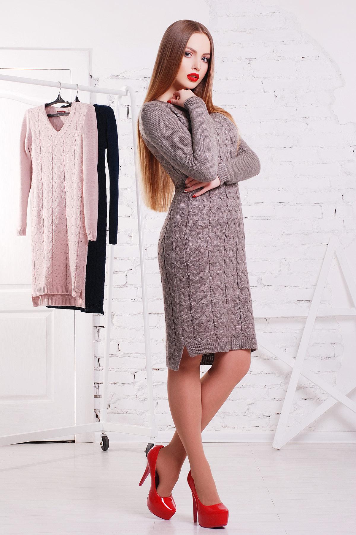 Вязаное платья женское купить
