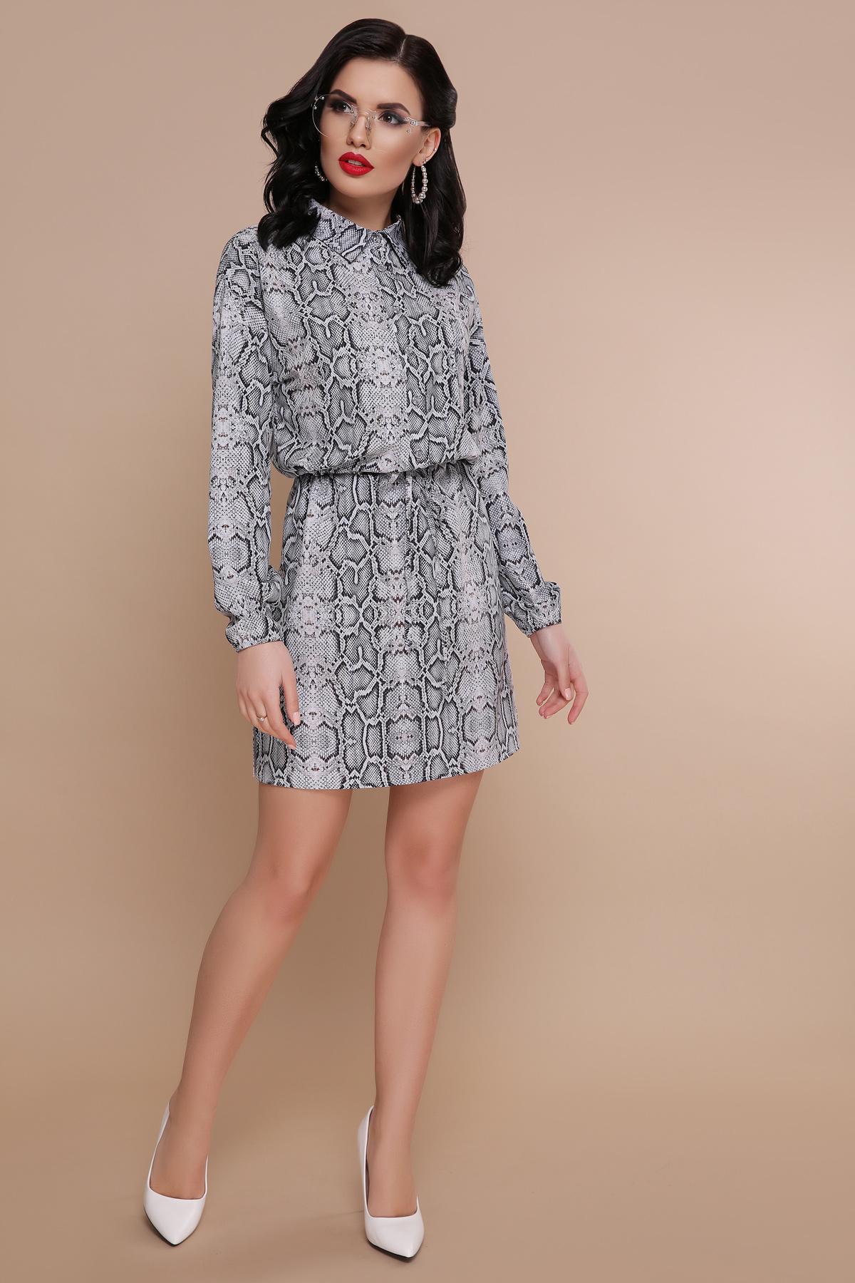 6c98fc08718 платье рубашка с принтом питона. Питон платье Азиза д р. Цвет  принт ...