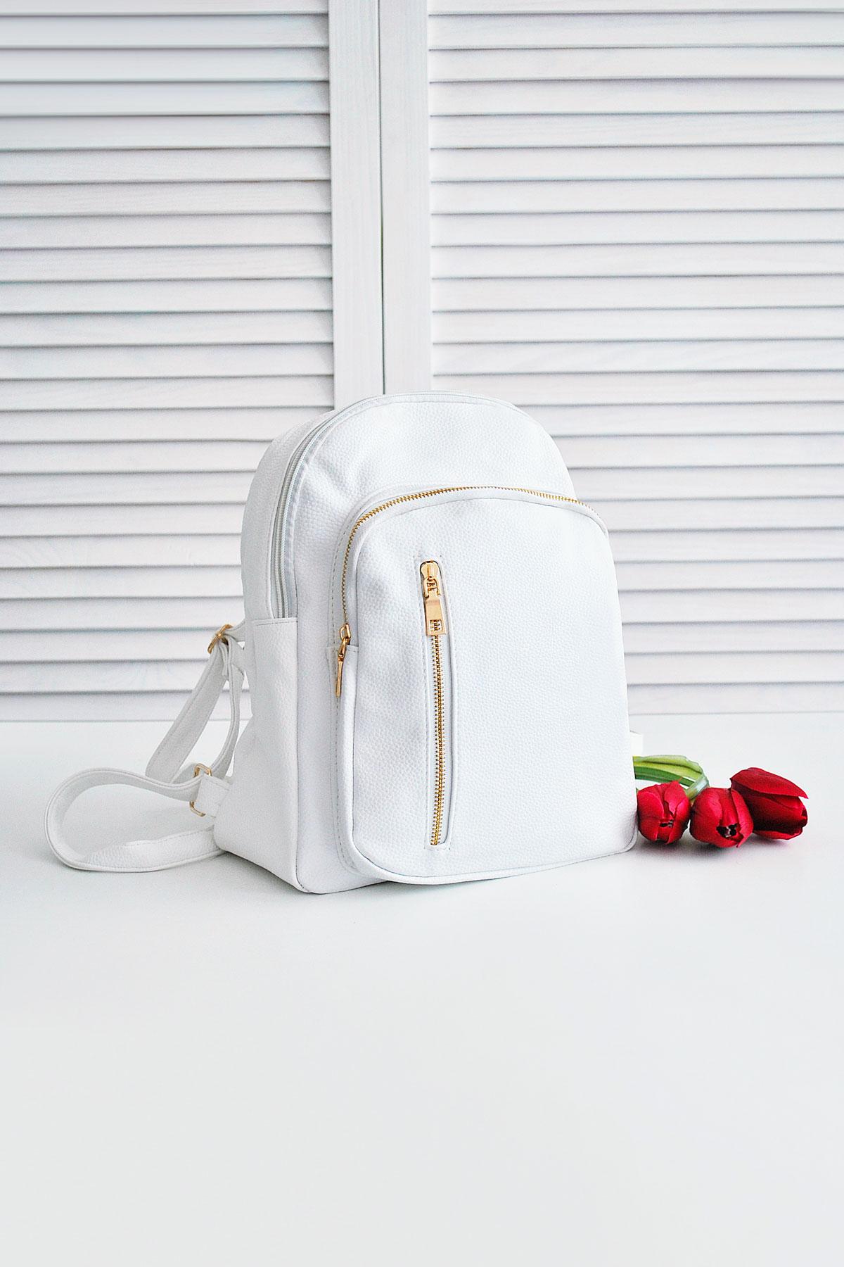 f4b4300e4f3d городской женский рюкзак синего цвета. Рюкзак D122. Цвет: белый