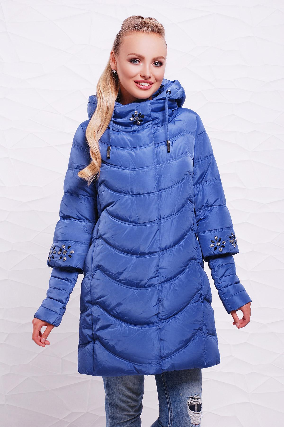 Куртка 9014. Цвет: синий