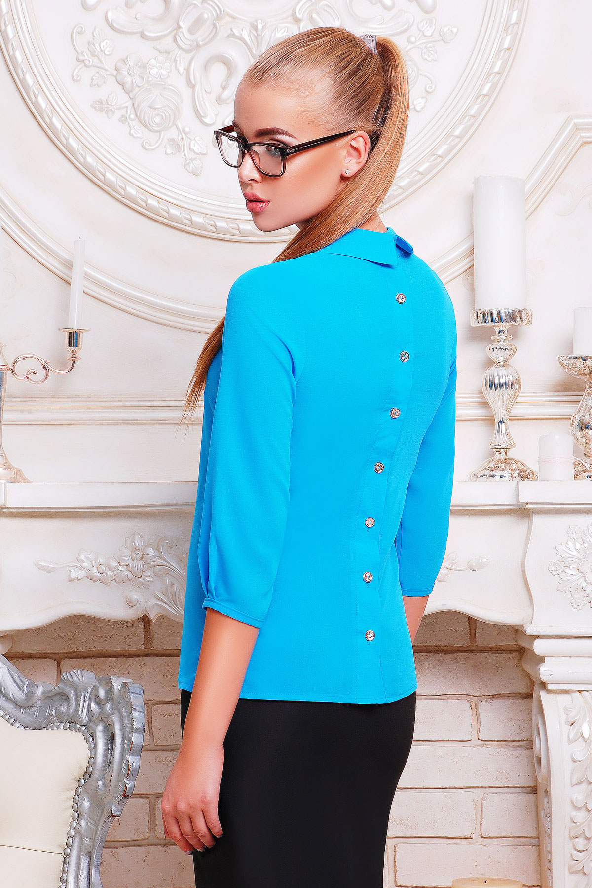Купить Зеленое Блузку