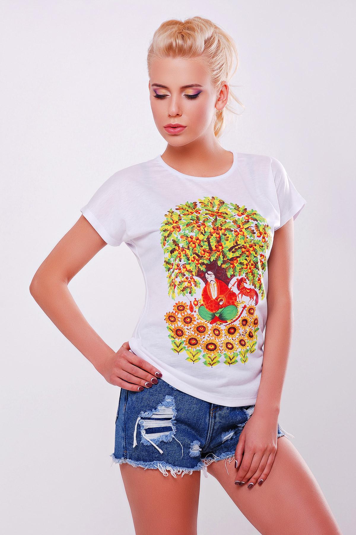 Козак футболка Кимоно-Б. Цвет: принт