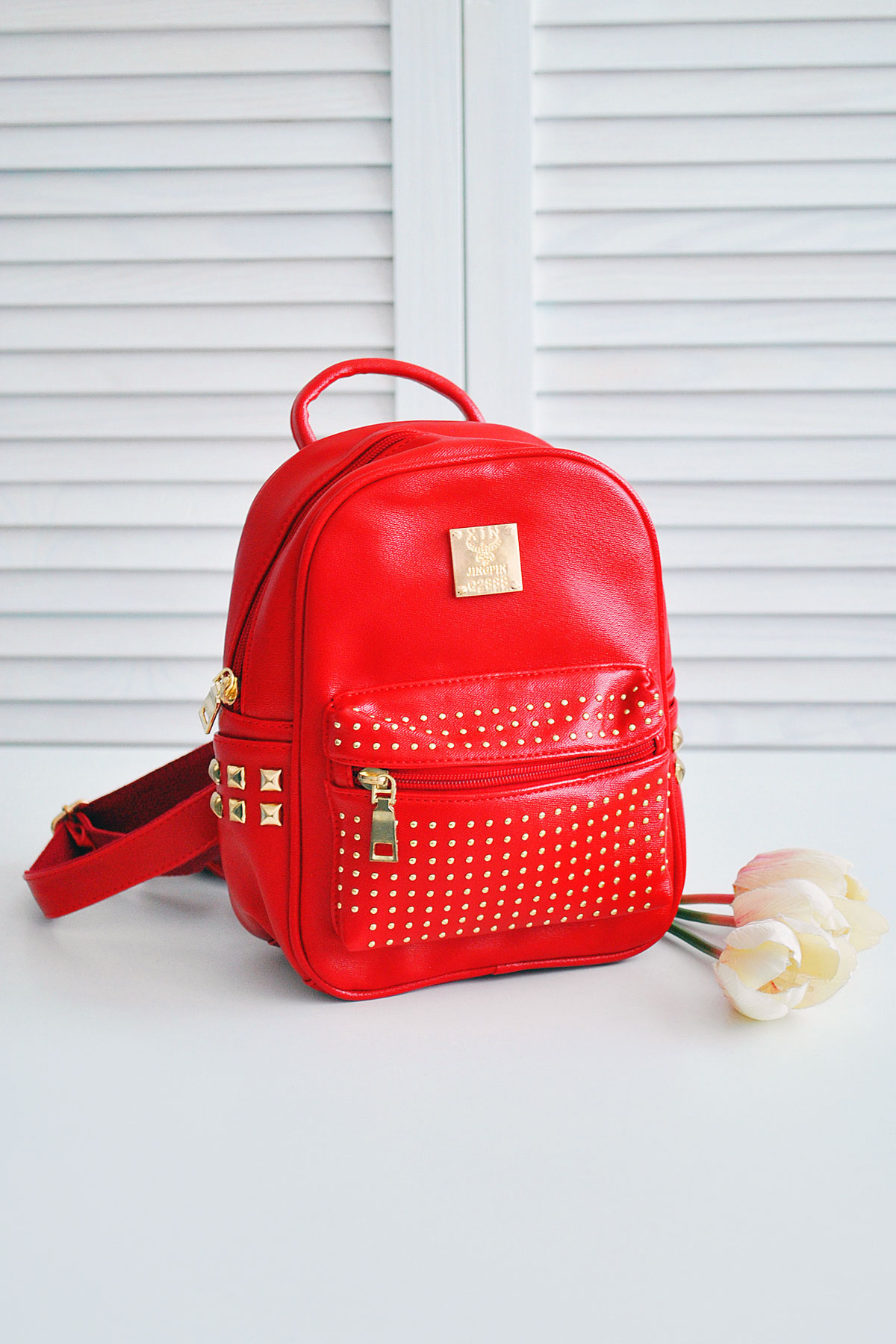 329e33f8ee4d небольшой рюкзак жемчужного цвета. Рюкзак 610. Цвет: красный