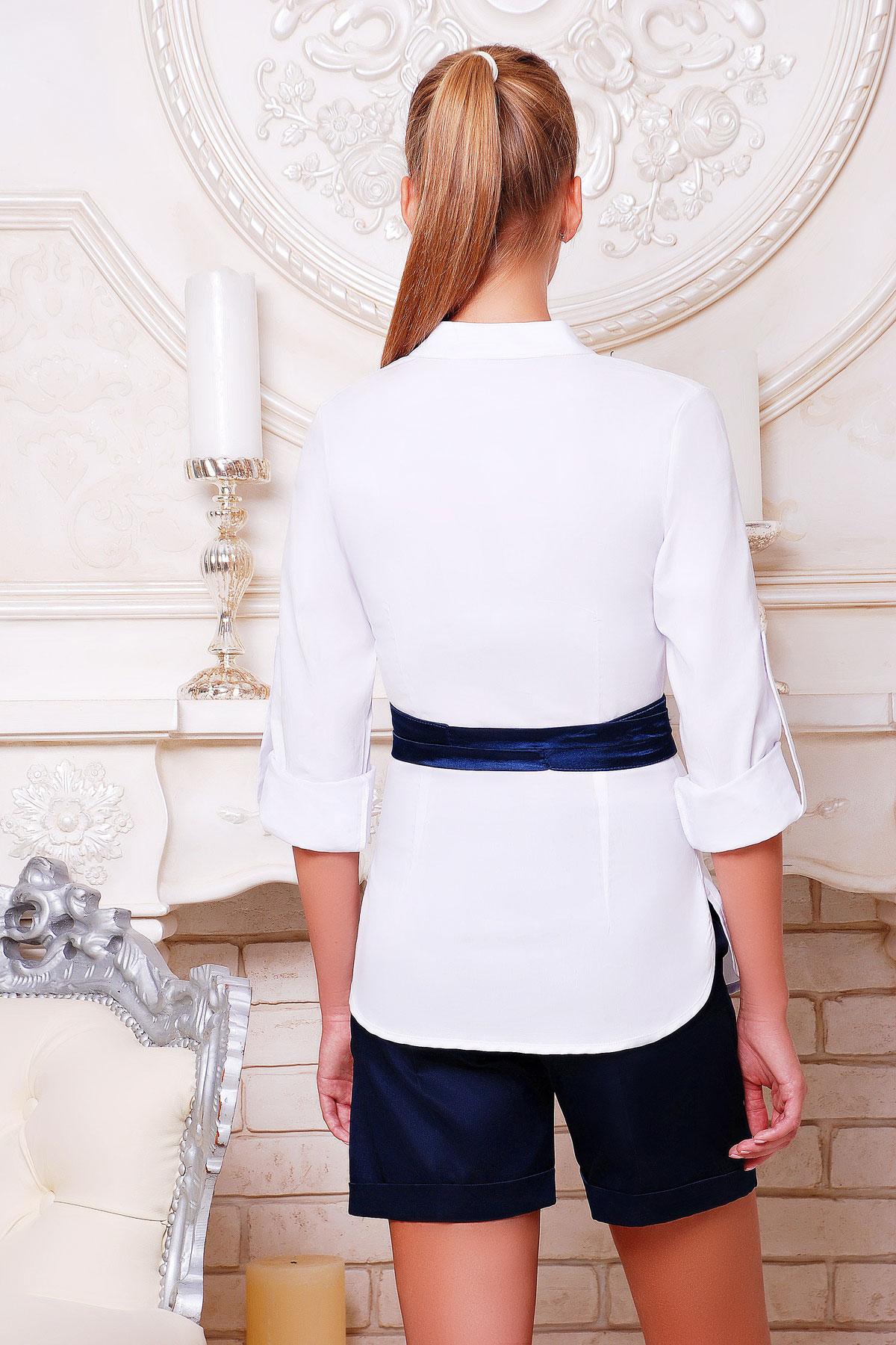 Купить блузку с поясом