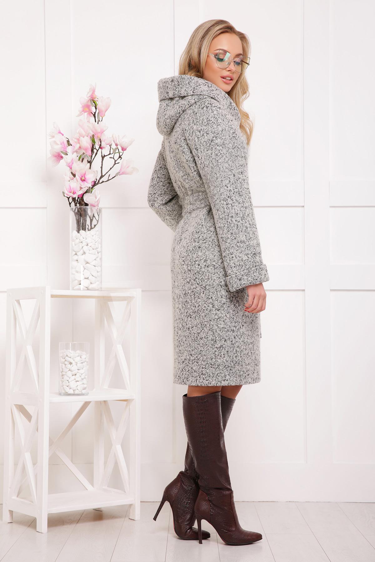 Цвет  1205 купить · женское пальто с капюшоном. пальто П-304-100б. dbee342192c9b