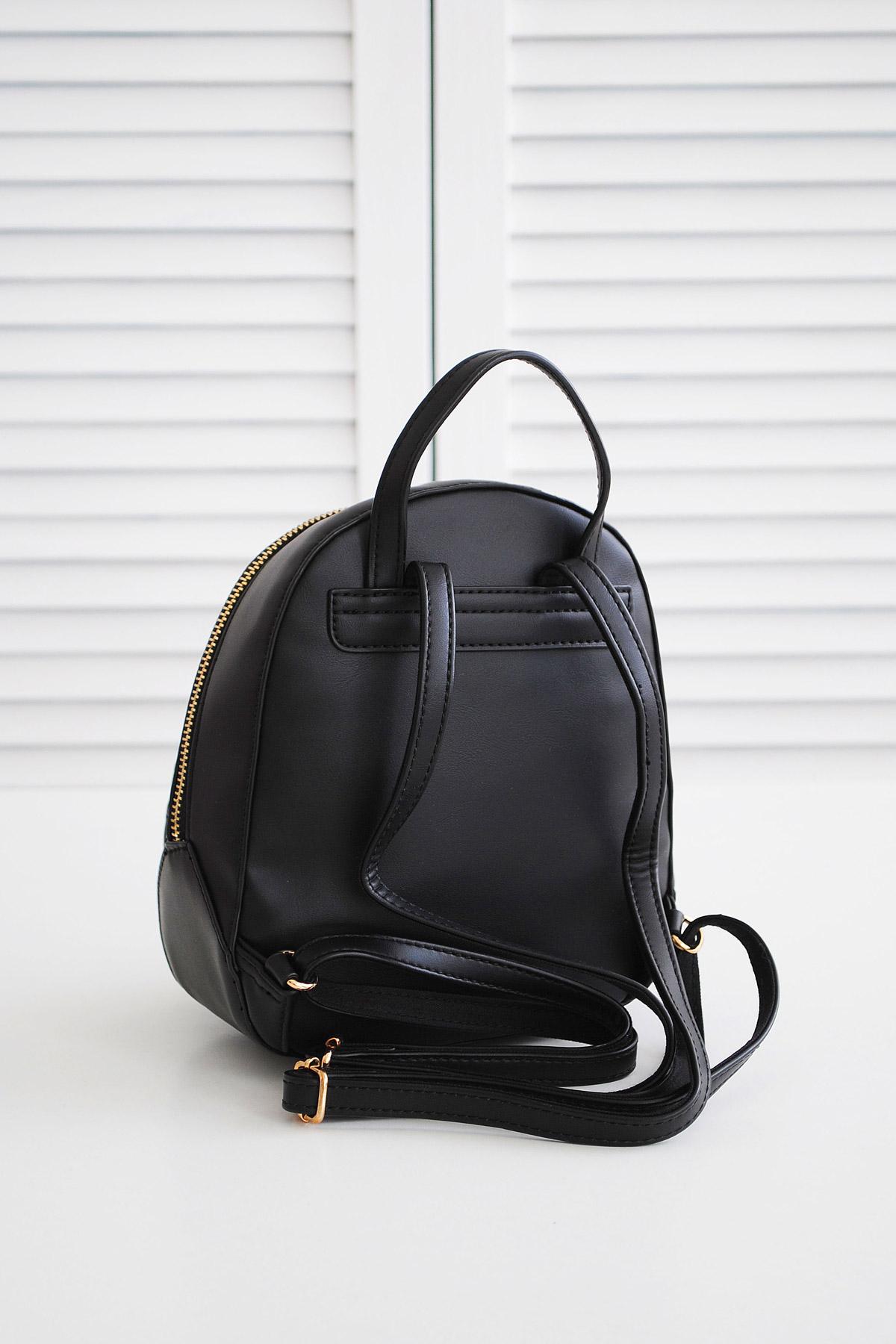 ef8b24685169 женский мини рюкзак белого цвета. Рюкзак 5526-2. Цвет  черный купить ...