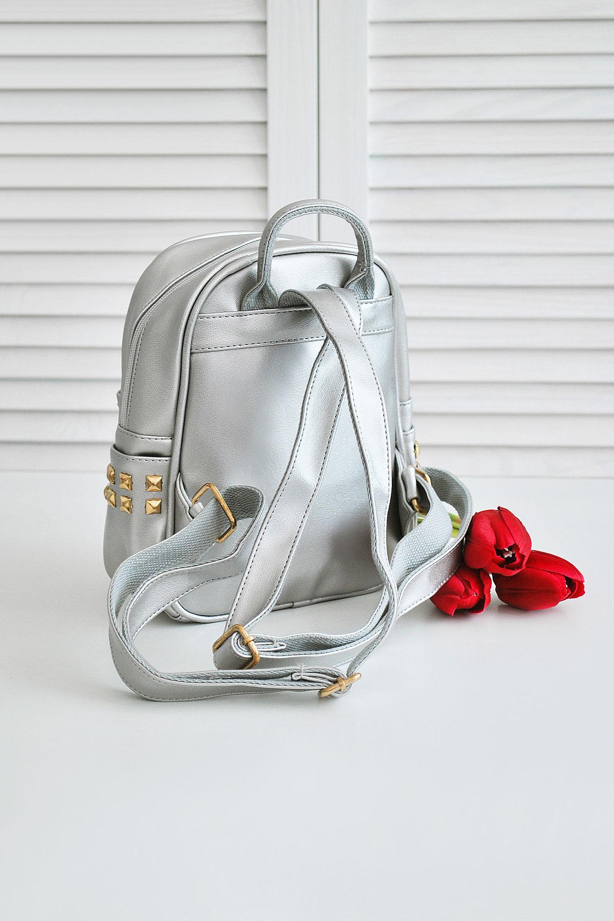 dd2ccee5f09d небольшой рюкзак жемчужного цвета. Рюкзак 610. Цвет: металлик купить ...