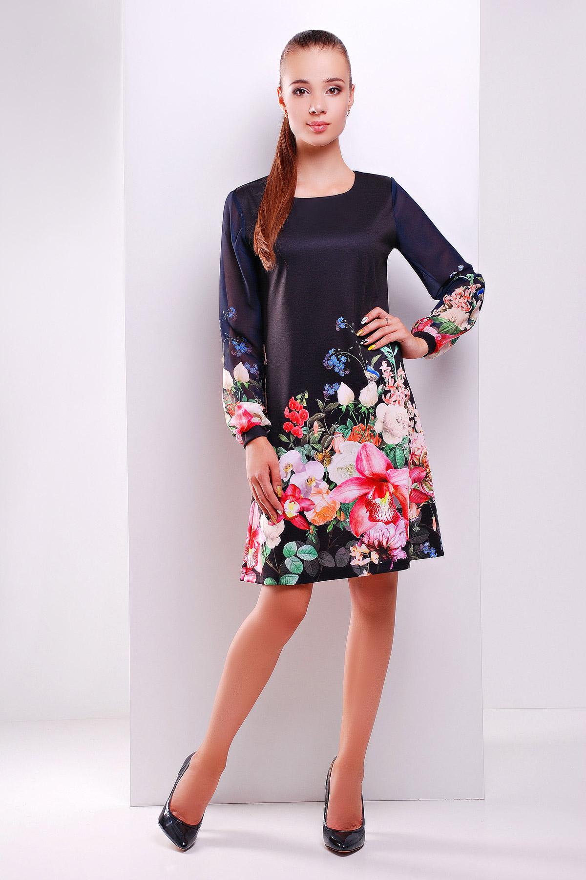 Купить платье в принт