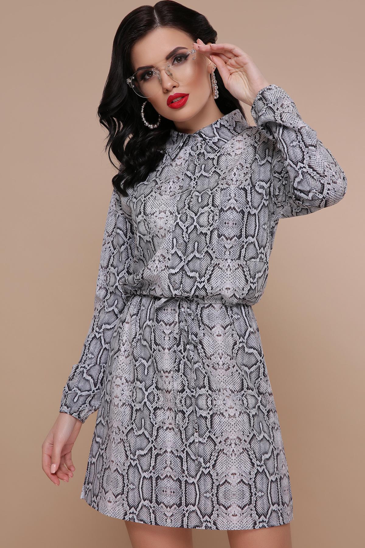 c5ace86b5ee платье рубашка с принтом питона. Питон платье Азиза д р. Цвет  принт