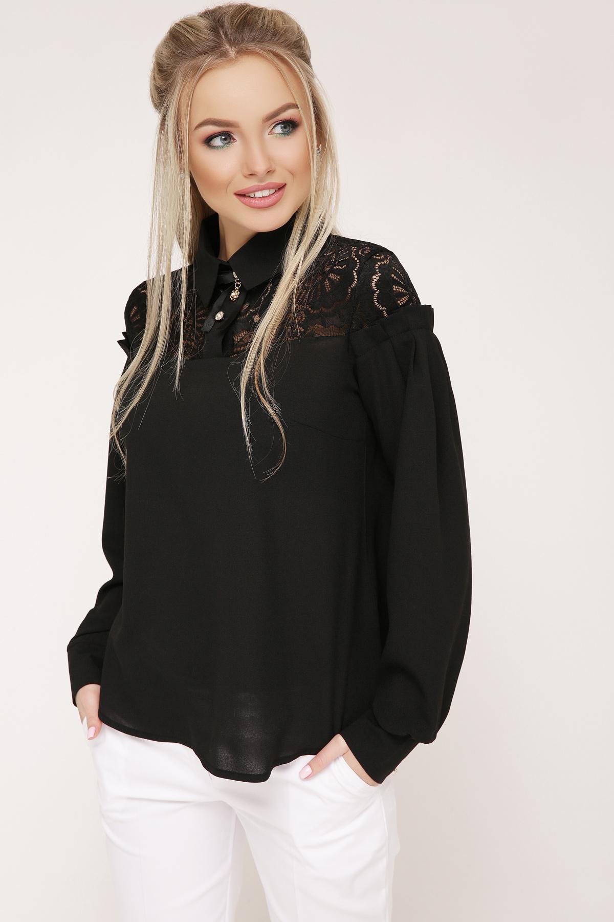 18d3a0622ca свободная блузка черного цвета. блуза Джустина д р. Цвет  черный
