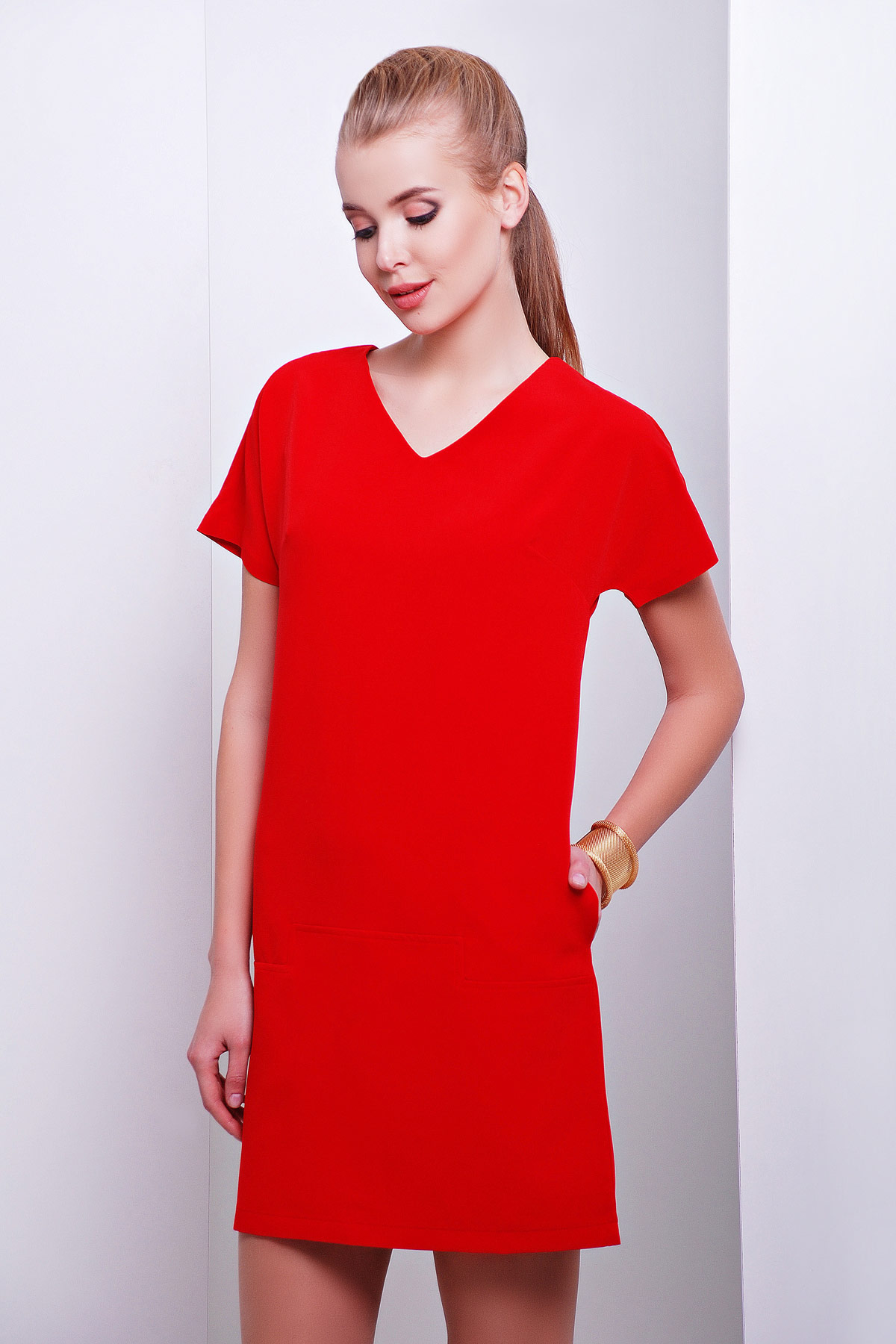 992cbcf6038 Платье Космо к р. Цвет  красный - купить оптом и в розницу в Украине