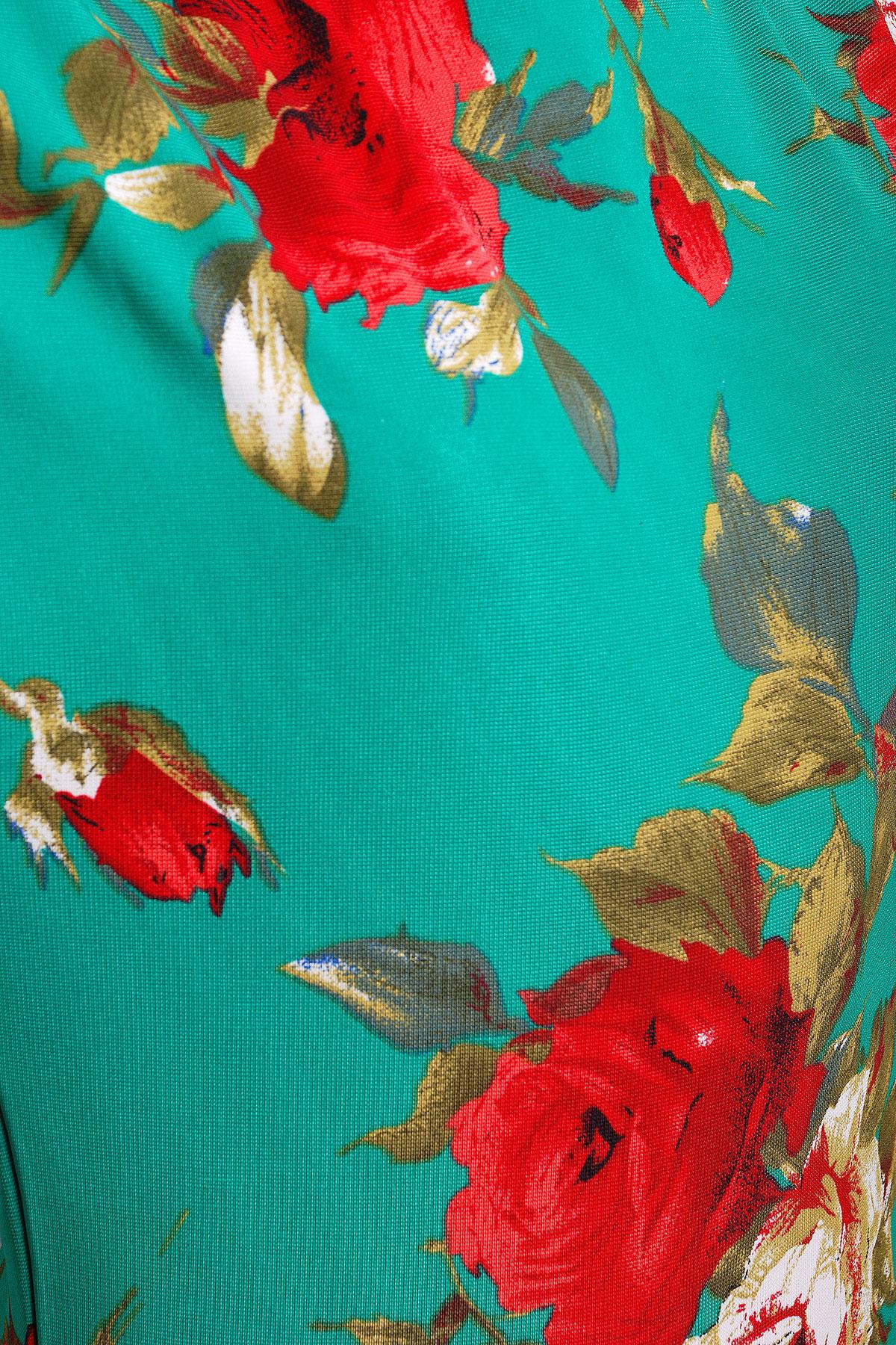 Кофта с розами