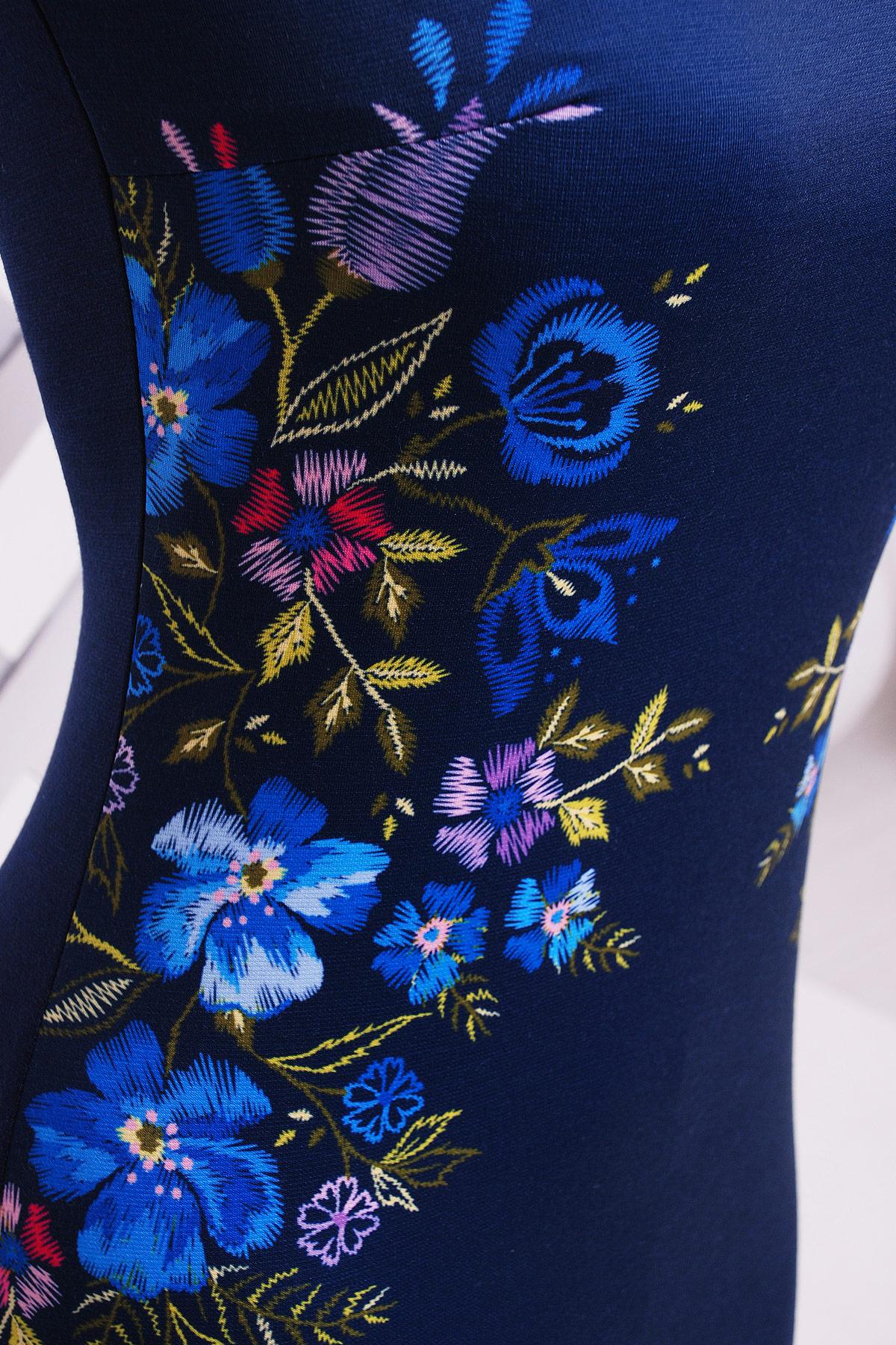 36b61808c1f Цвет  Черное платье с рукавами из сетки. Вышивка платье Донна2 д р.