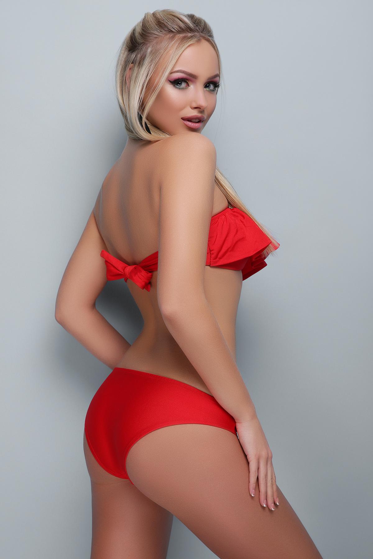 db1a9c38db9a8 красный купальник бандо. Купальник В-433. Цвет: красный купить