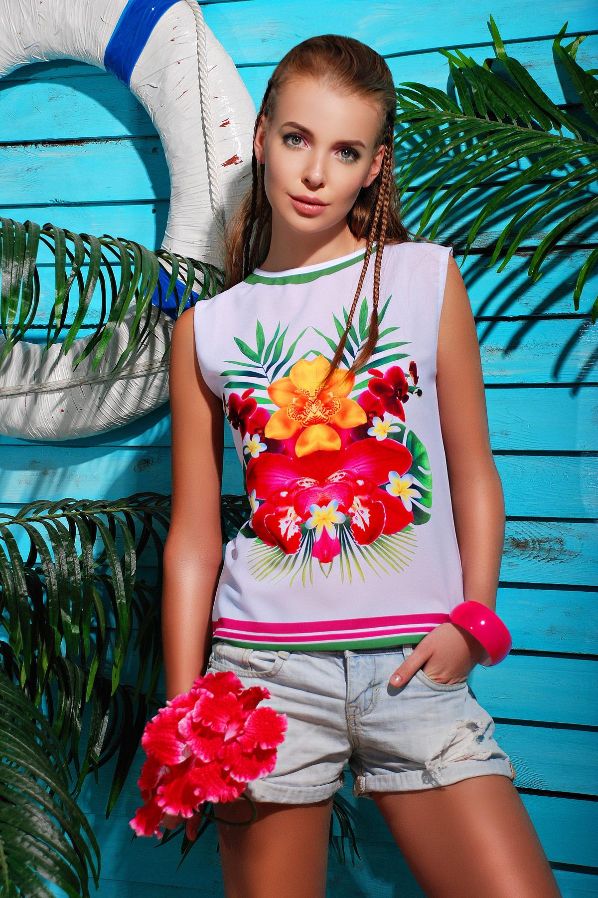 Тропики футболка Киви-Б. Цвет: принт