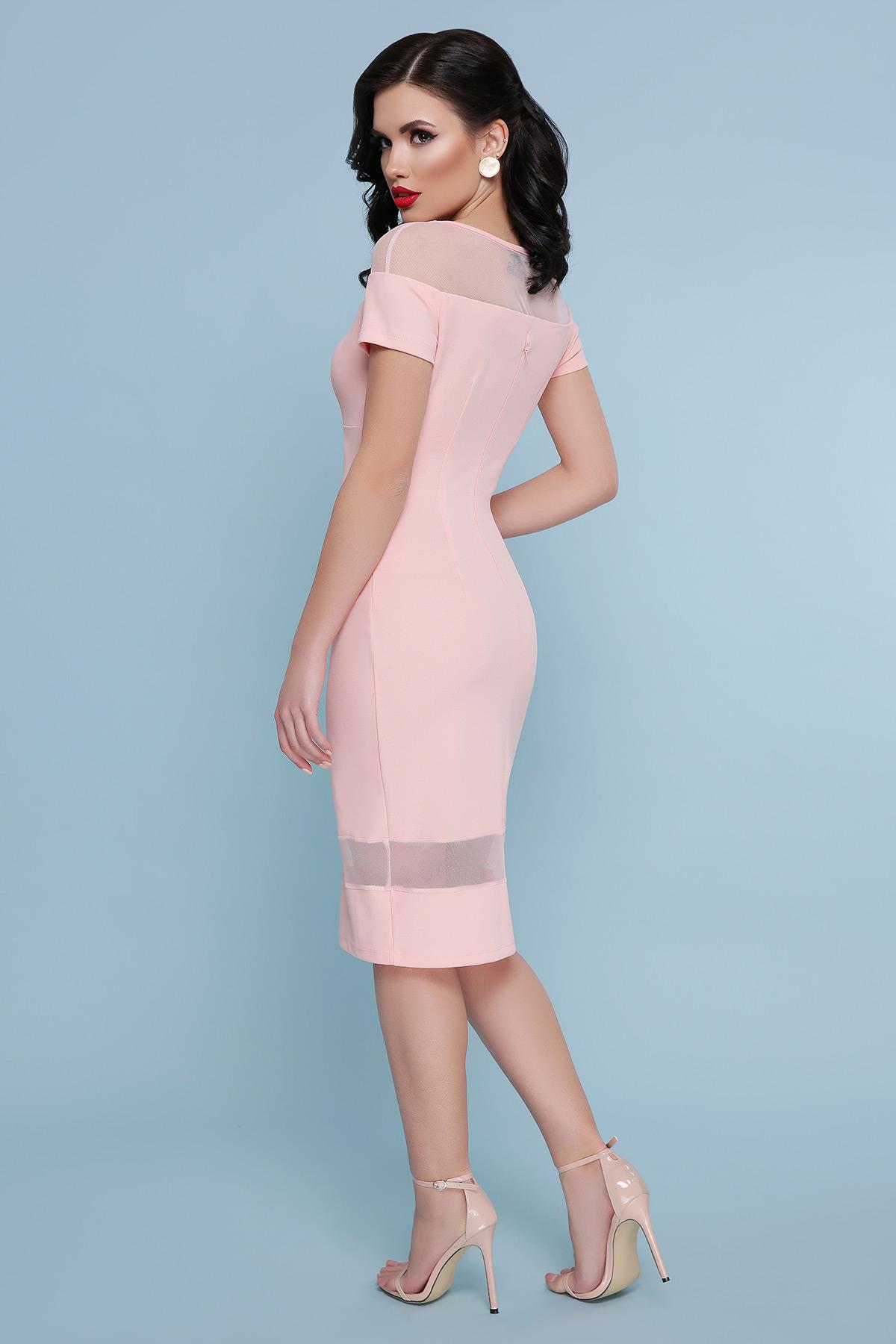 71501dc8aa5 персиковое платье на вечер. платье Владана 2 к р. Цвет  персик купить