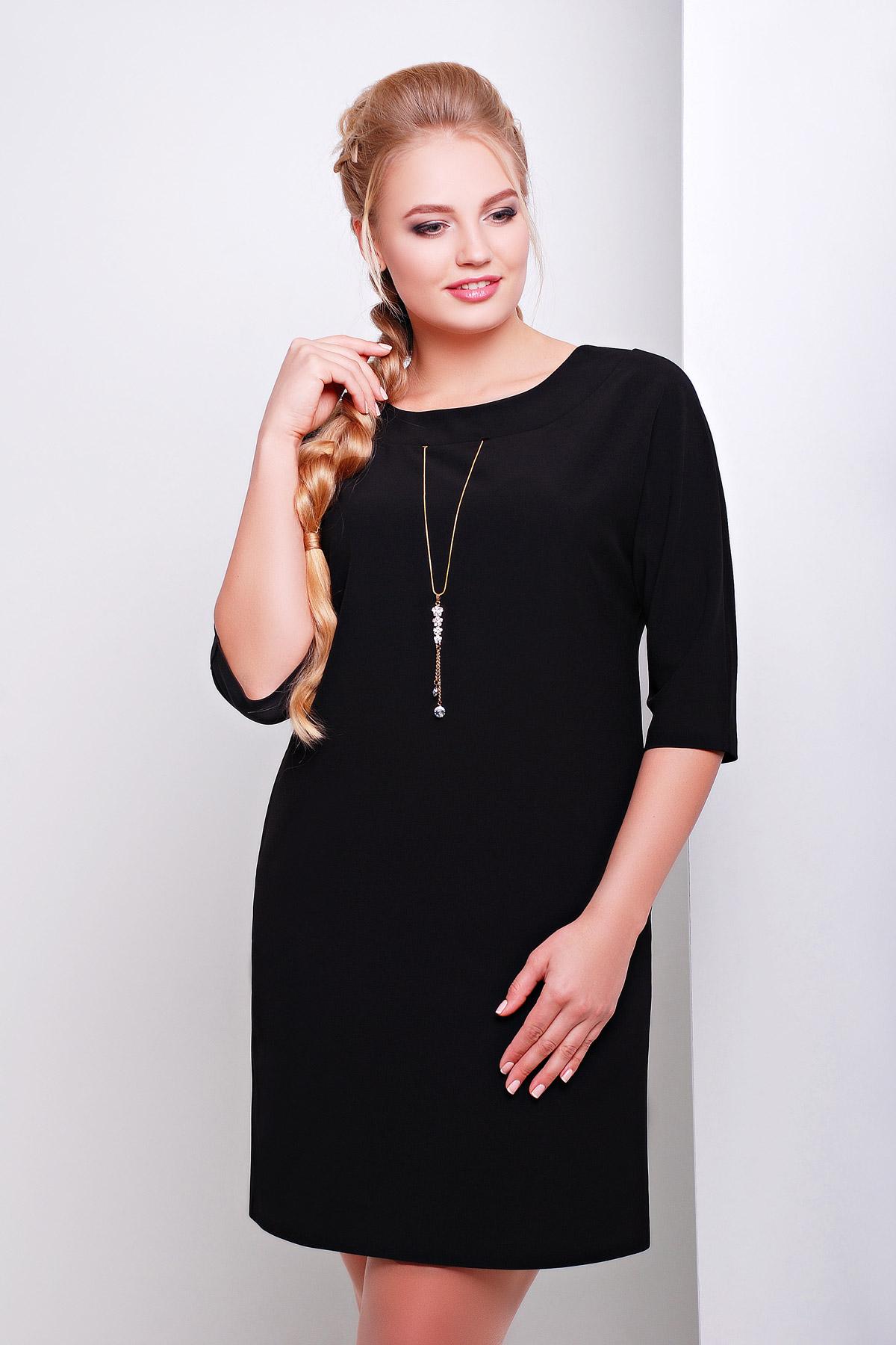 Черное платье новые цвета