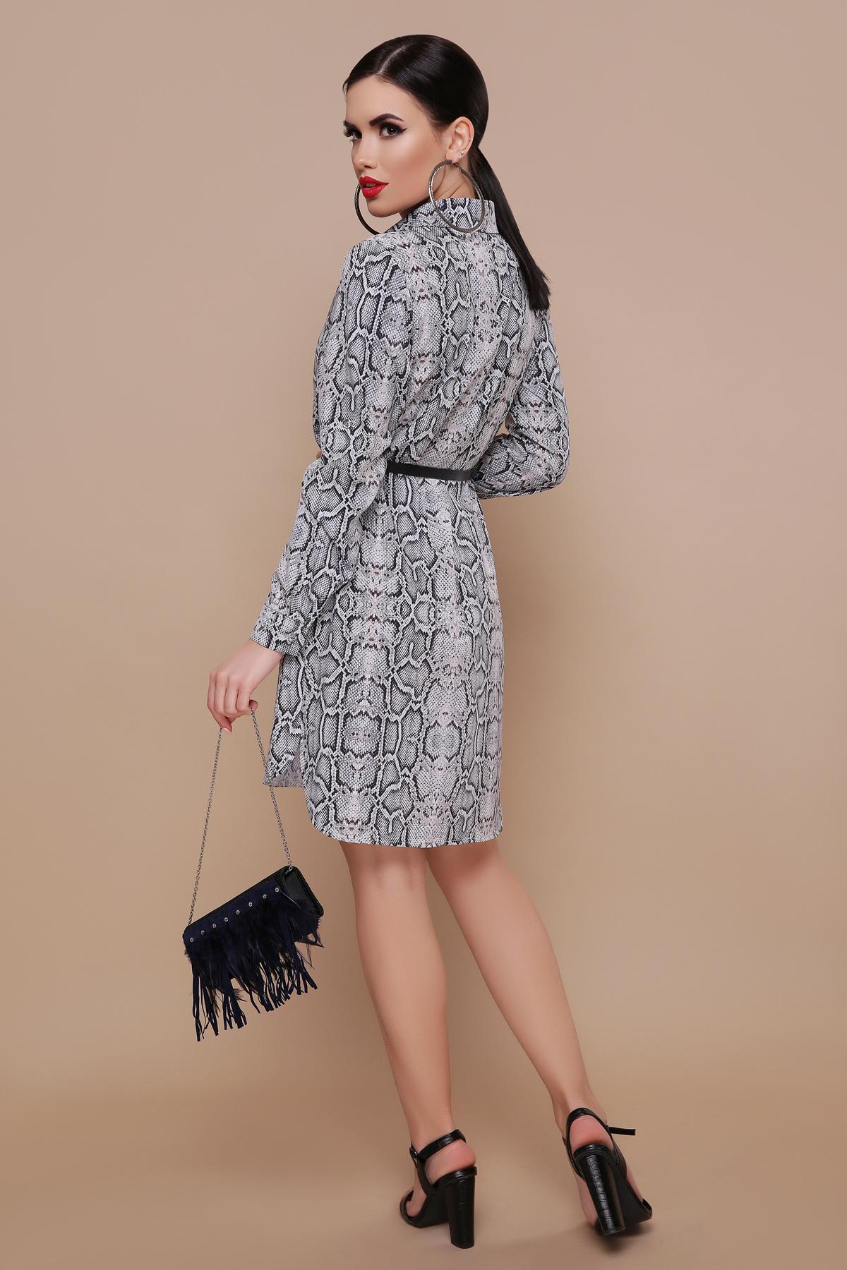 c56cfa0d5c5 платье-рубашка со змеиным принтом. Питон платье-рубашка Аврора П д р ...