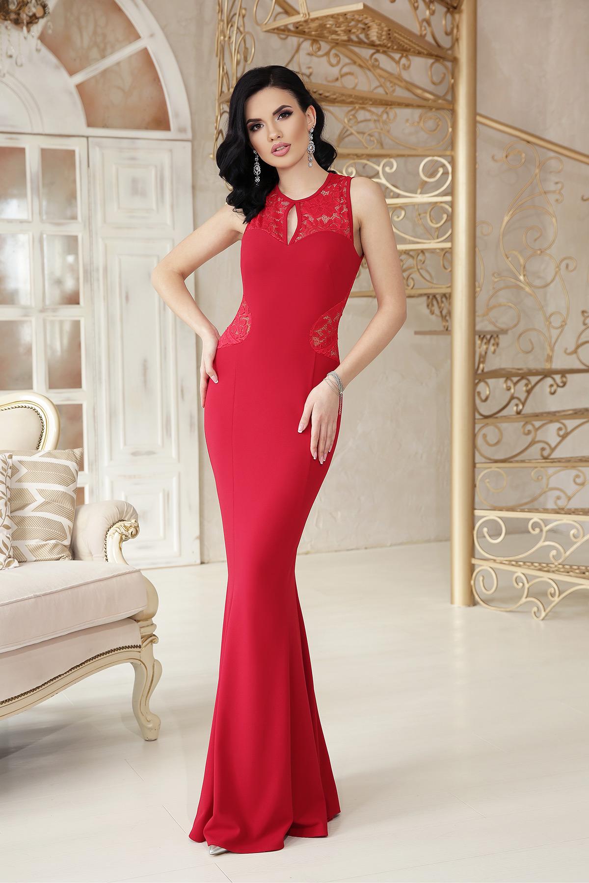 1290a721c4ed097 красное платье с открытой спиной. платье Азалия б/р. Цвет: красный