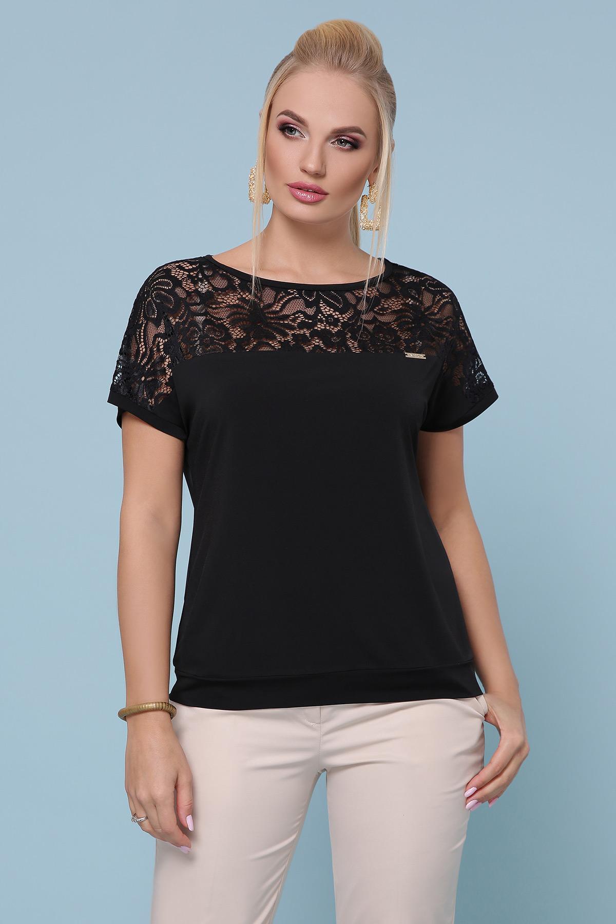 блуза Астрид-Б б/р. Цвет: черный
