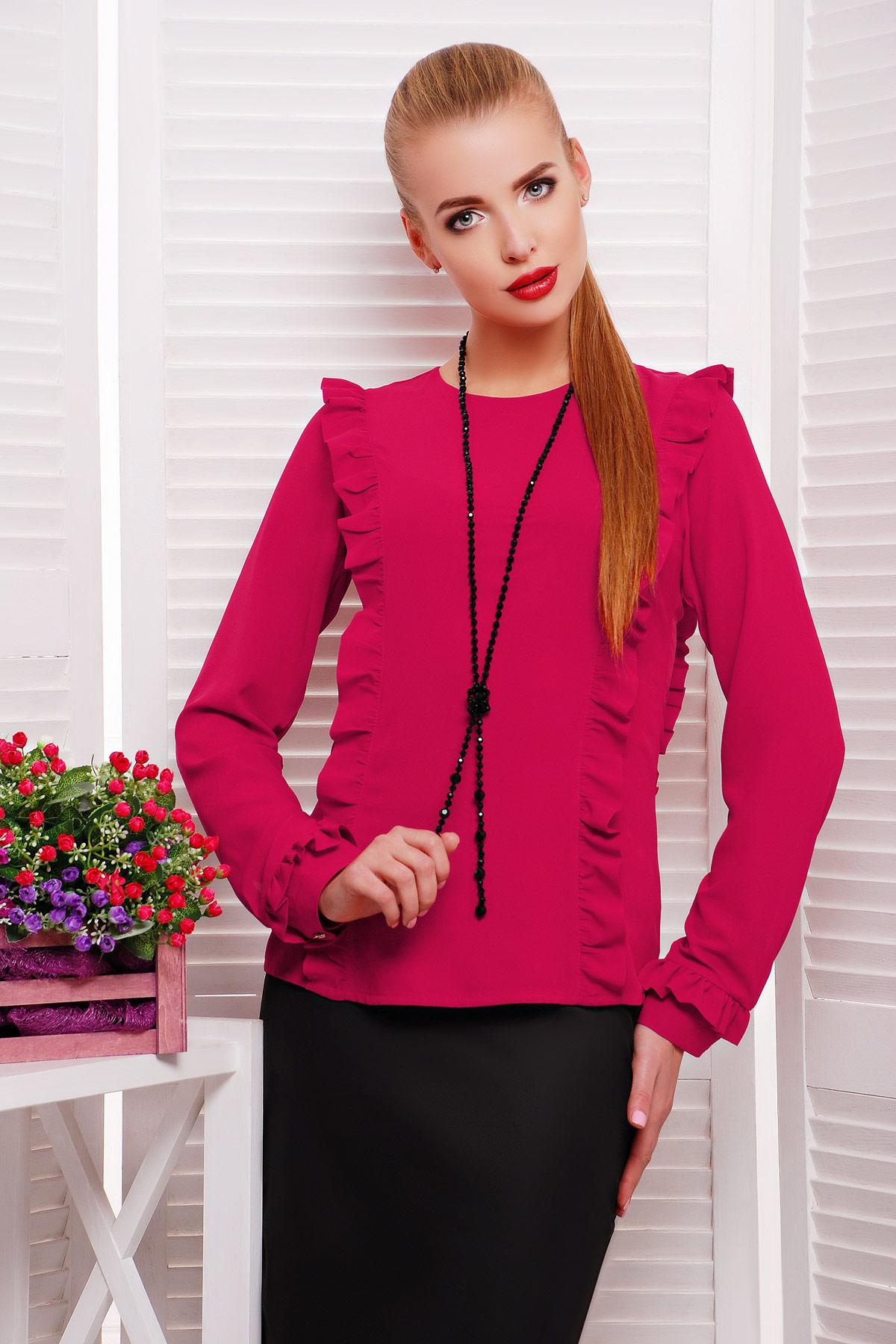 Купить фиолетовую блузку