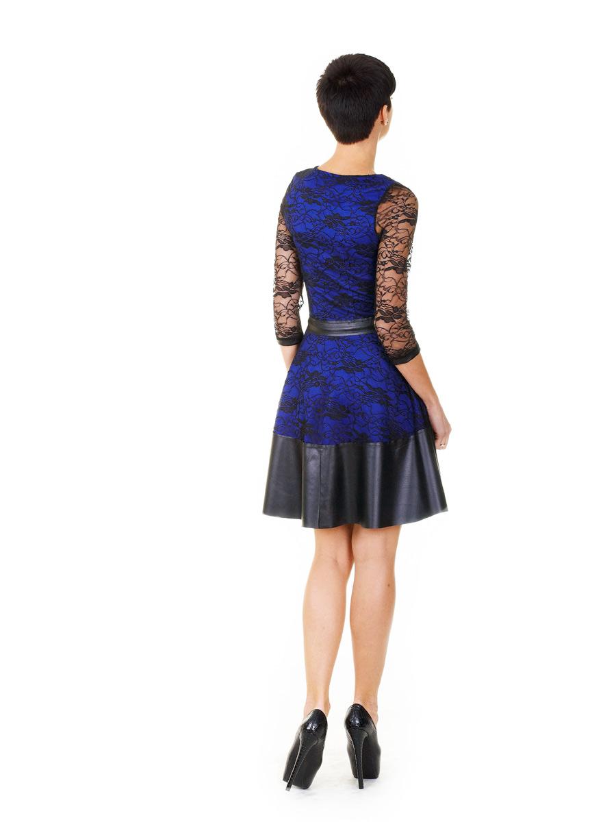50aa3245f7e красное платье с гипюром. платье Лючия д р. Цвет  электрик-черный ...