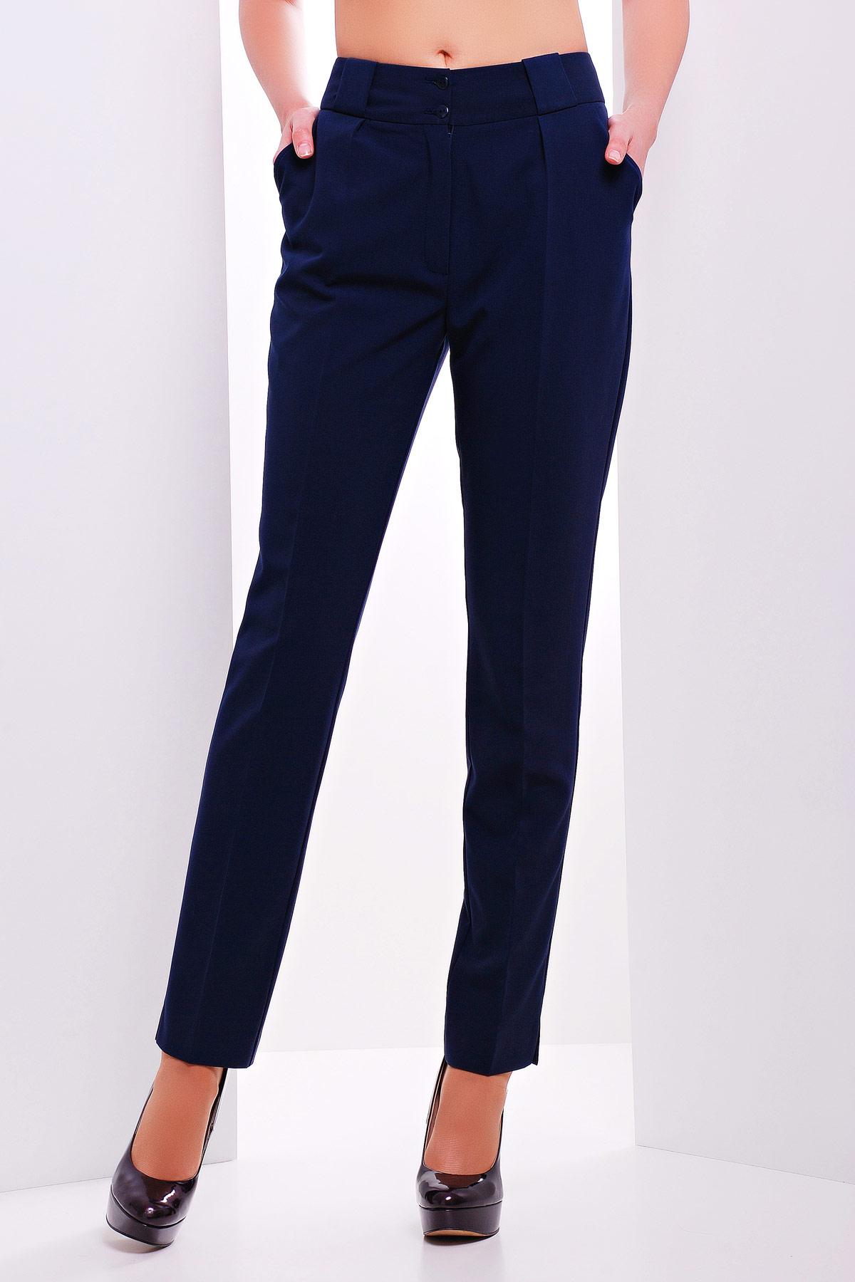 Темно синие брюки мужские