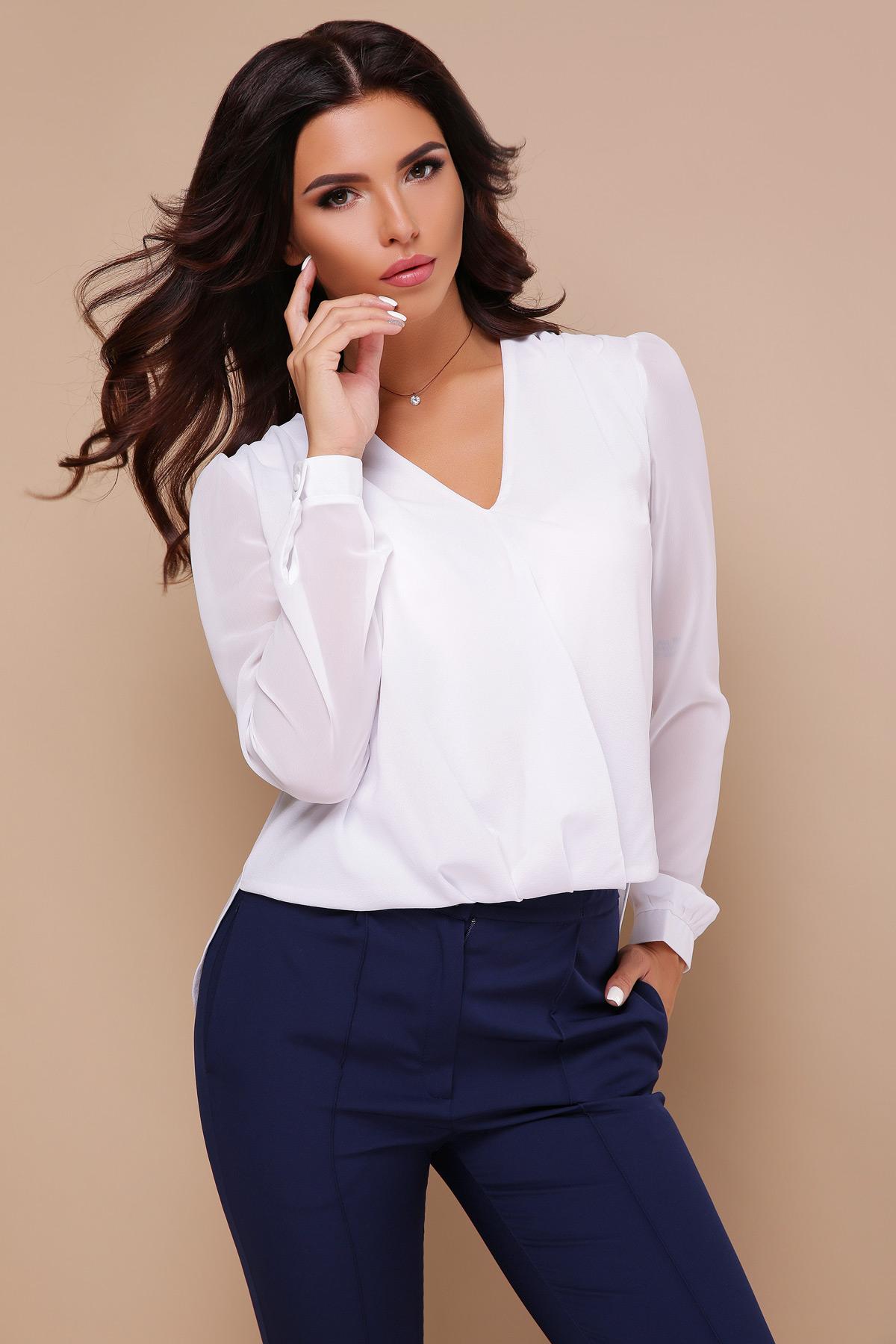 3f7c910cb748 черная блузка с кружевом. блуза Айлин д р. Цвет  белый