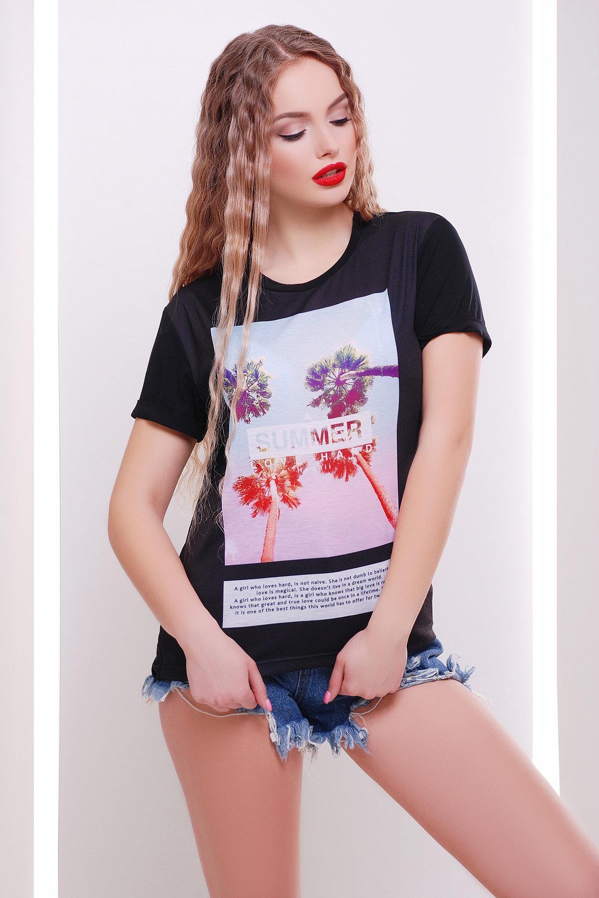 Summer love heart футболка Boy-2. Цвет: принт