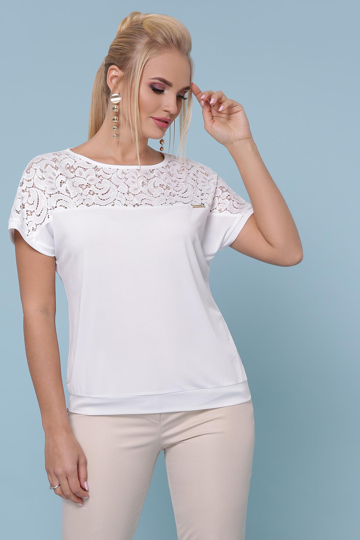 блуза Астрид-Б б/р. Цвет: белый