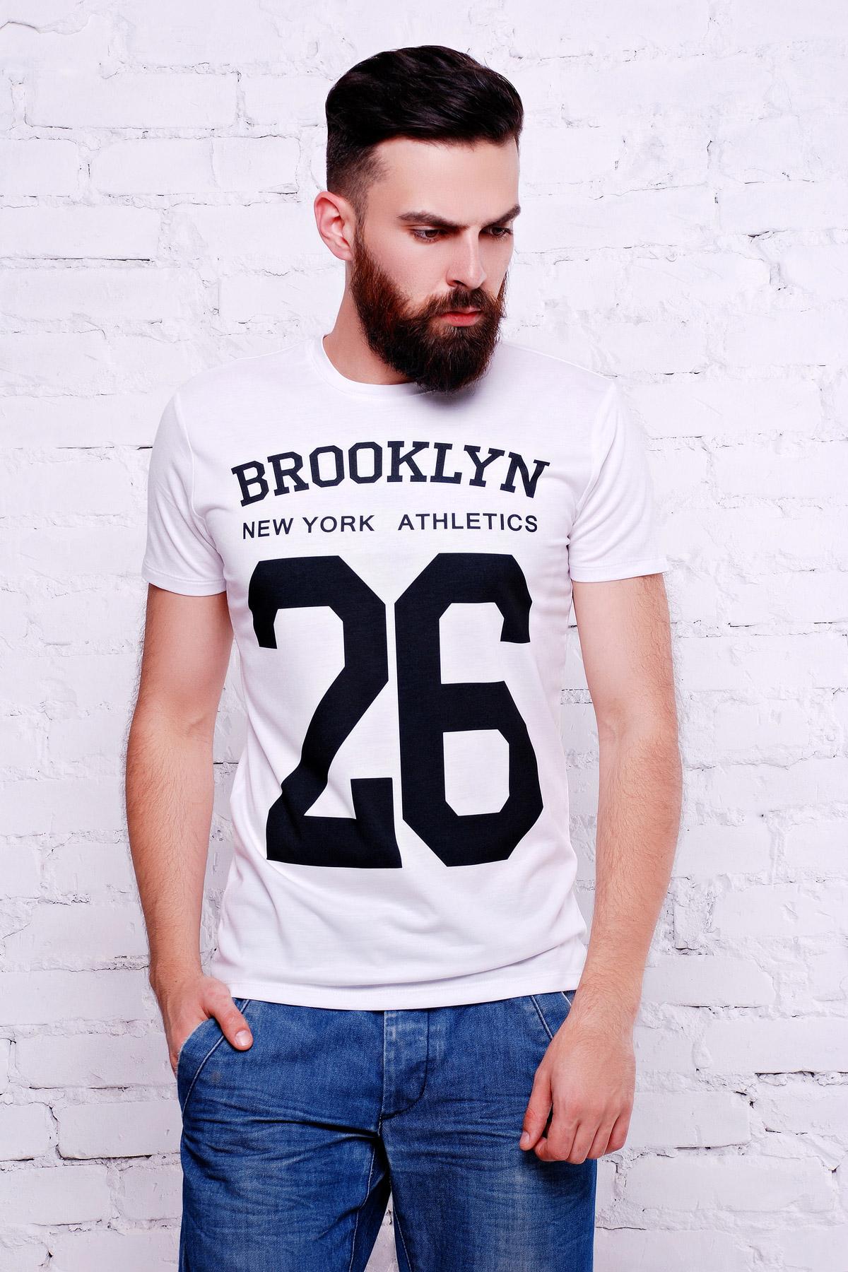 Brooklyn 26 Футболка Men-2В. Цвет: принт