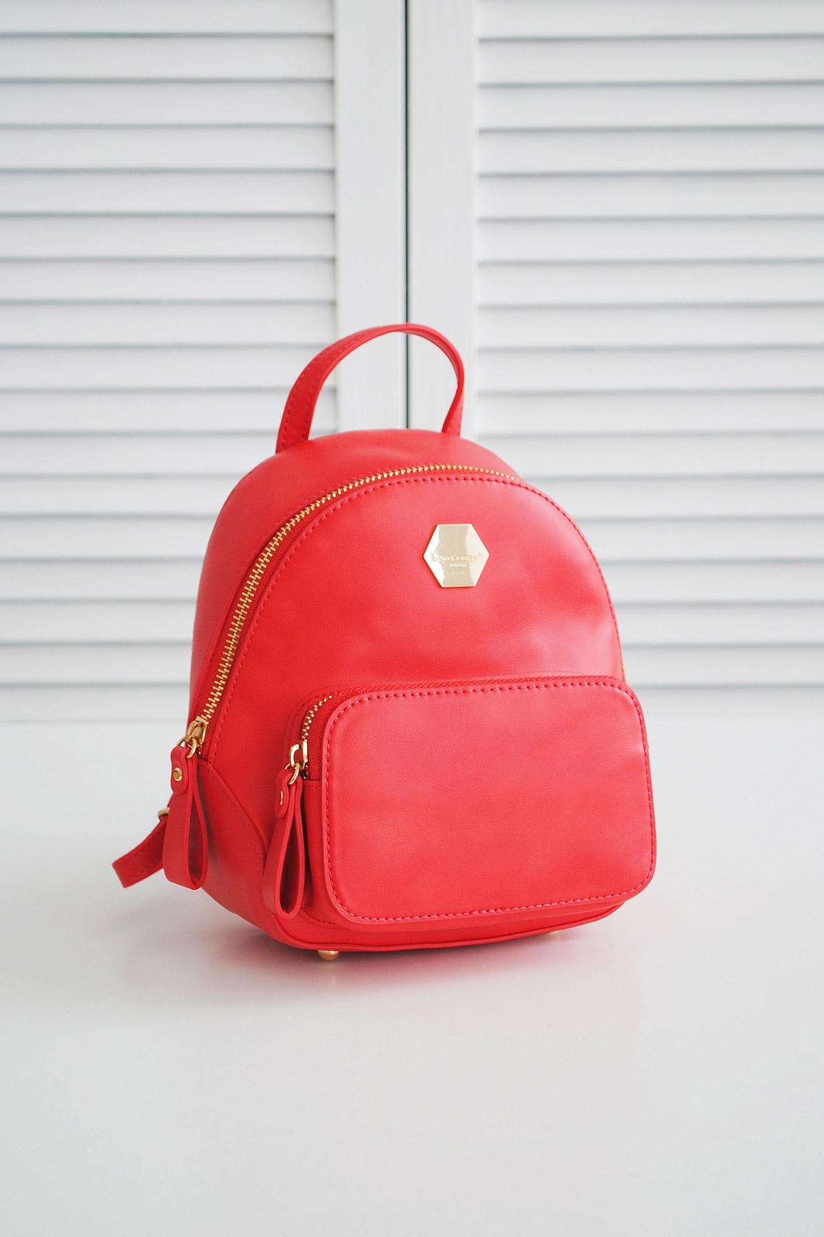 8c553d997b91 маленький женский рюкзак красного цвета. Рюкзак 5526-2. Цвет: красный