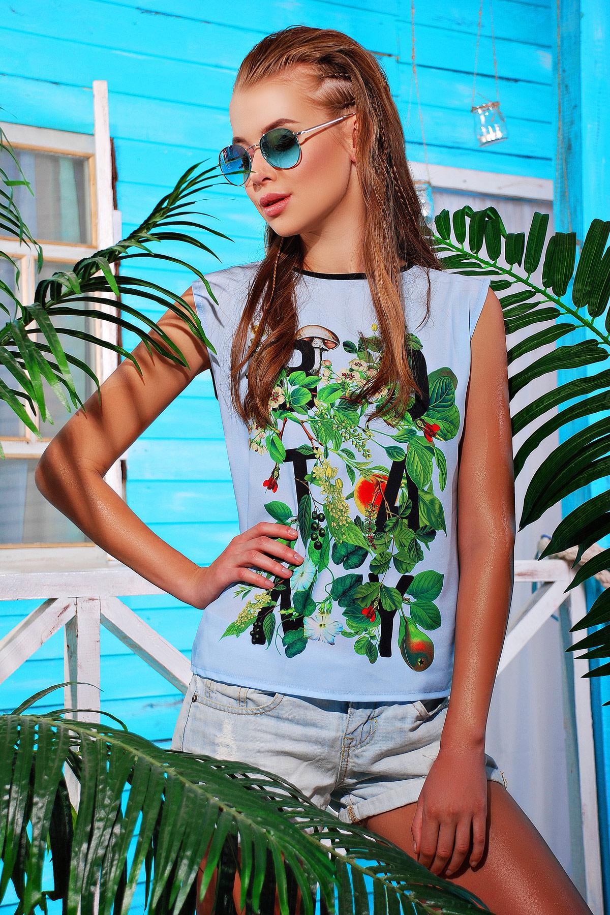 Botanly футболка Киви-Б. Цвет: принт