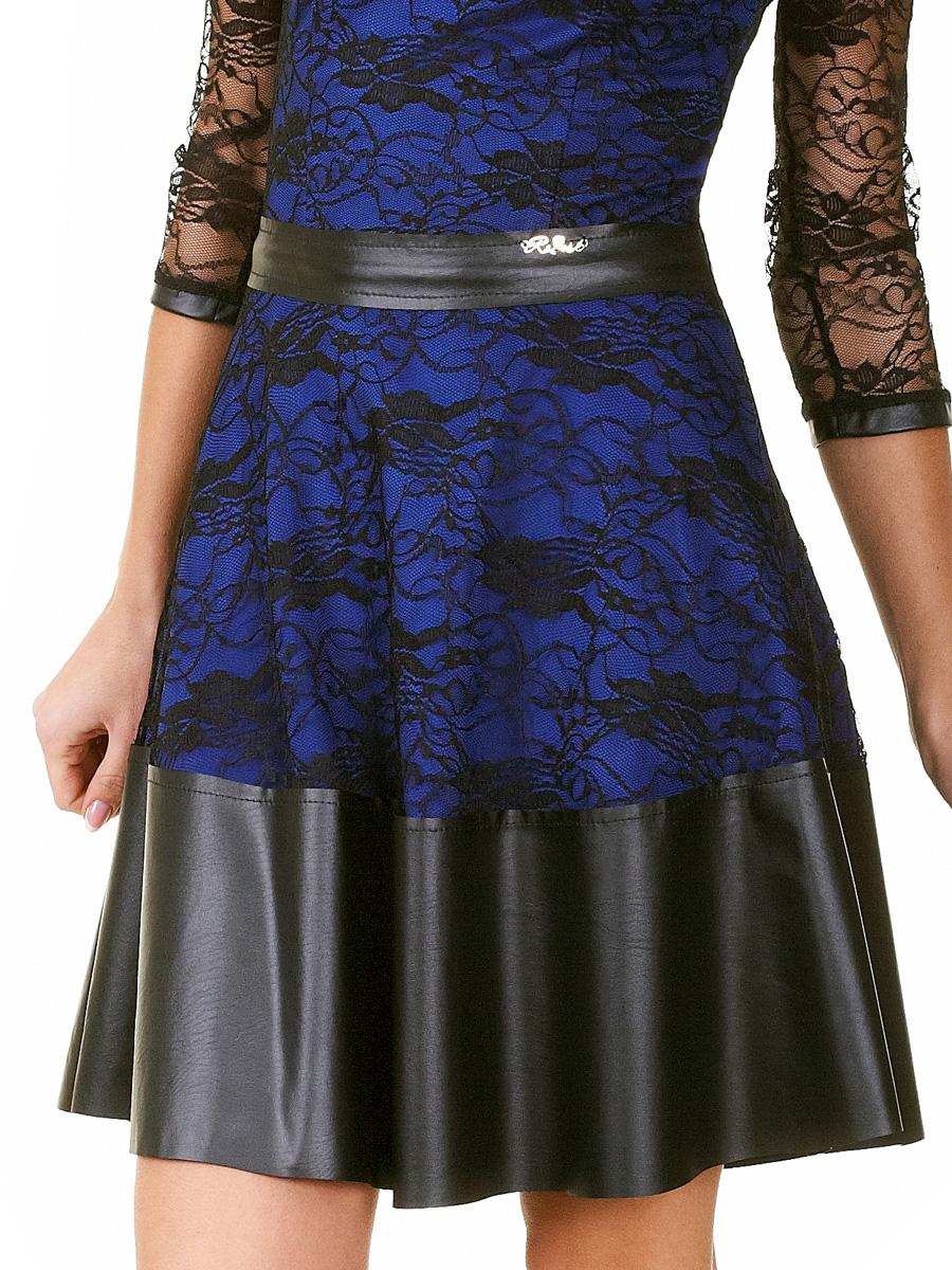 2f2c7df9f87 ... красное платье с гипюром. платье Лючия д р. Цвет  электрик-черный