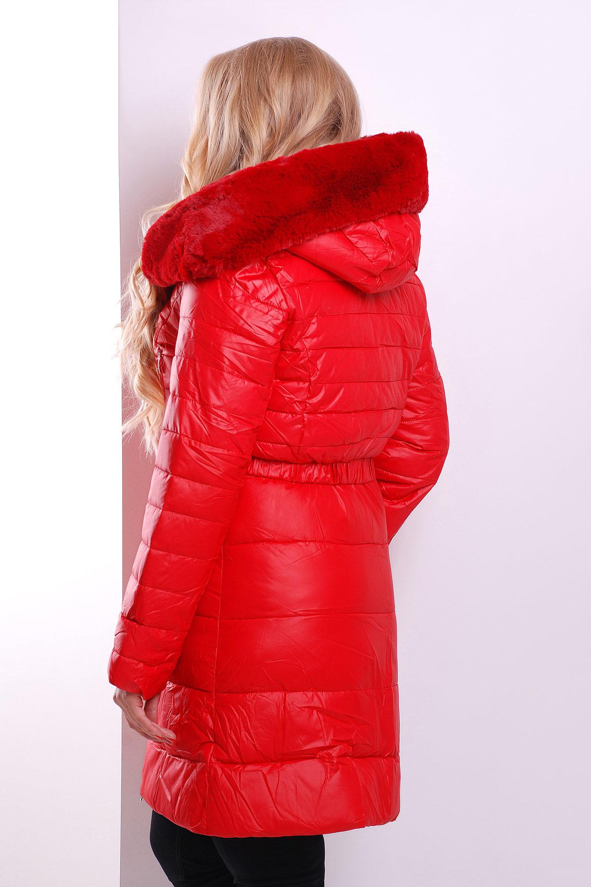 a9c4e9b02b3 Зимняя куртка-двойка красного цвета. Куртка 13. Цвет  красный купить