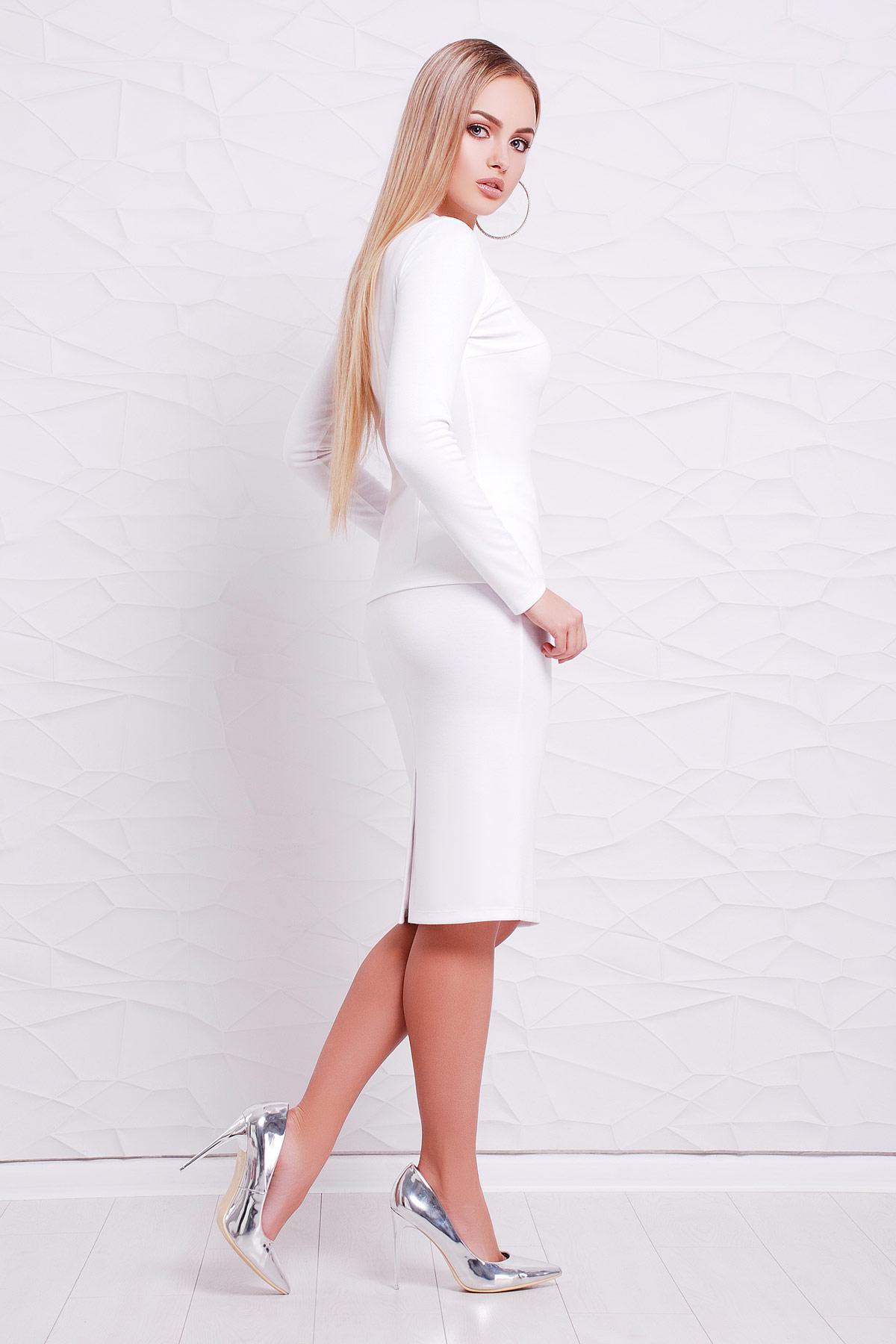 Белый кофты
