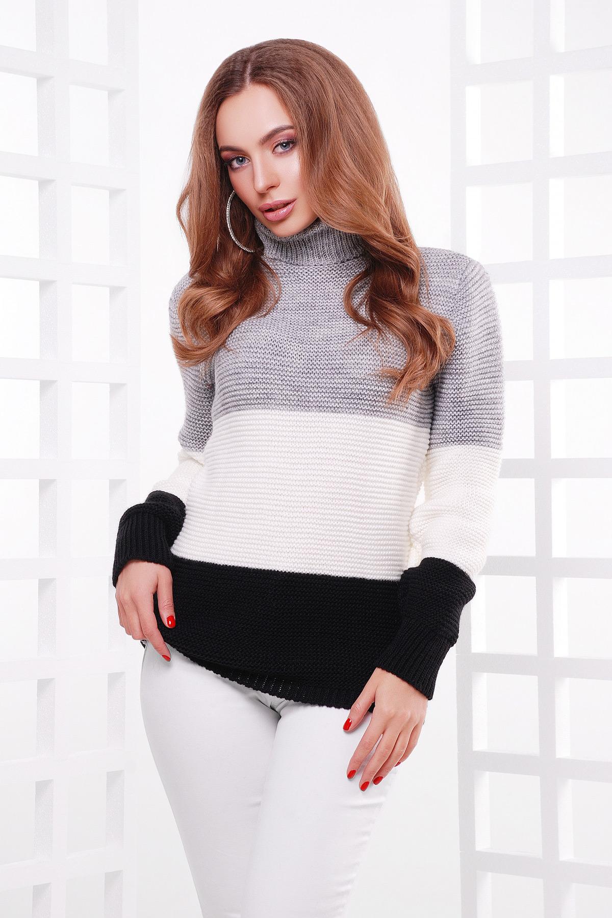 Купить удлиненный свитер женский