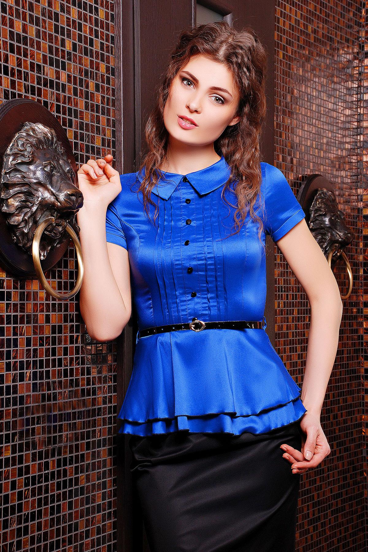 Купить Женскую Блузку С Баской