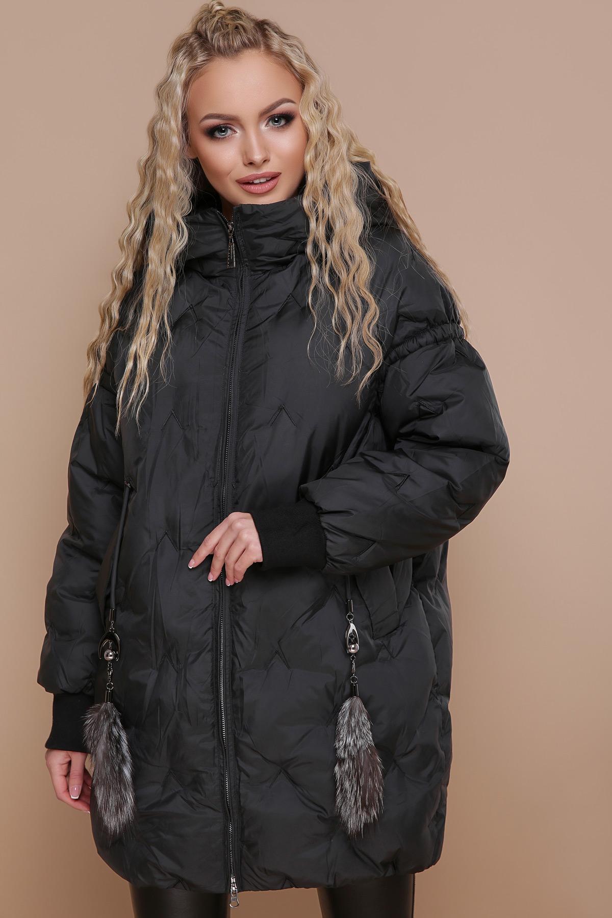 ab8b2ea2335 черная куртка оверсайз. Куртка 1912. Цвет  черный