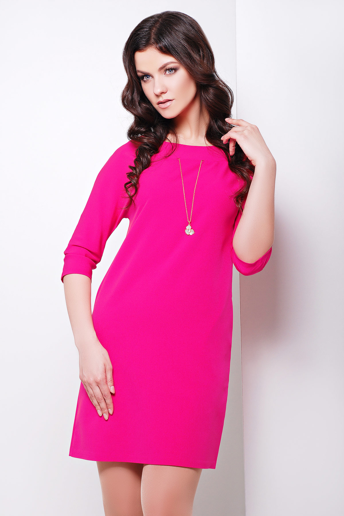 Платье цвета фуксия купить