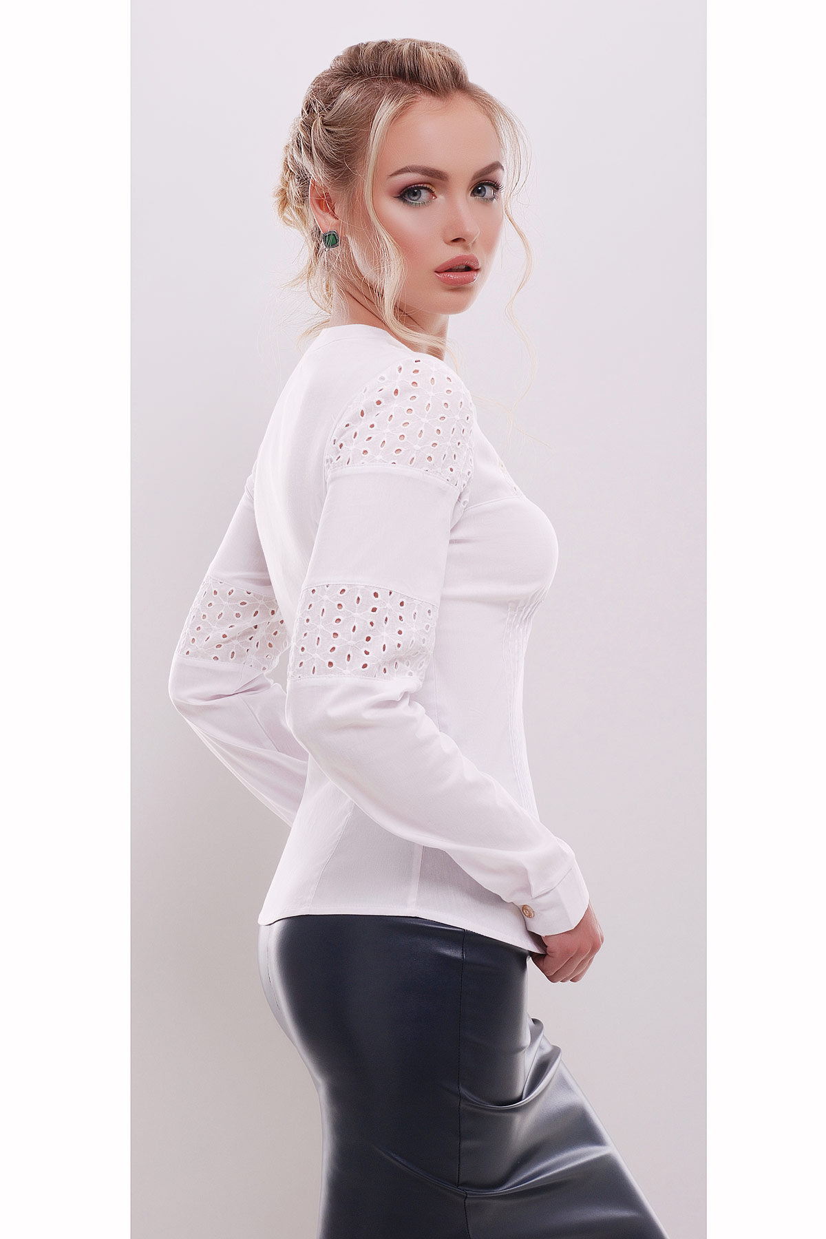 Блузка женская с длинным рукавом купить