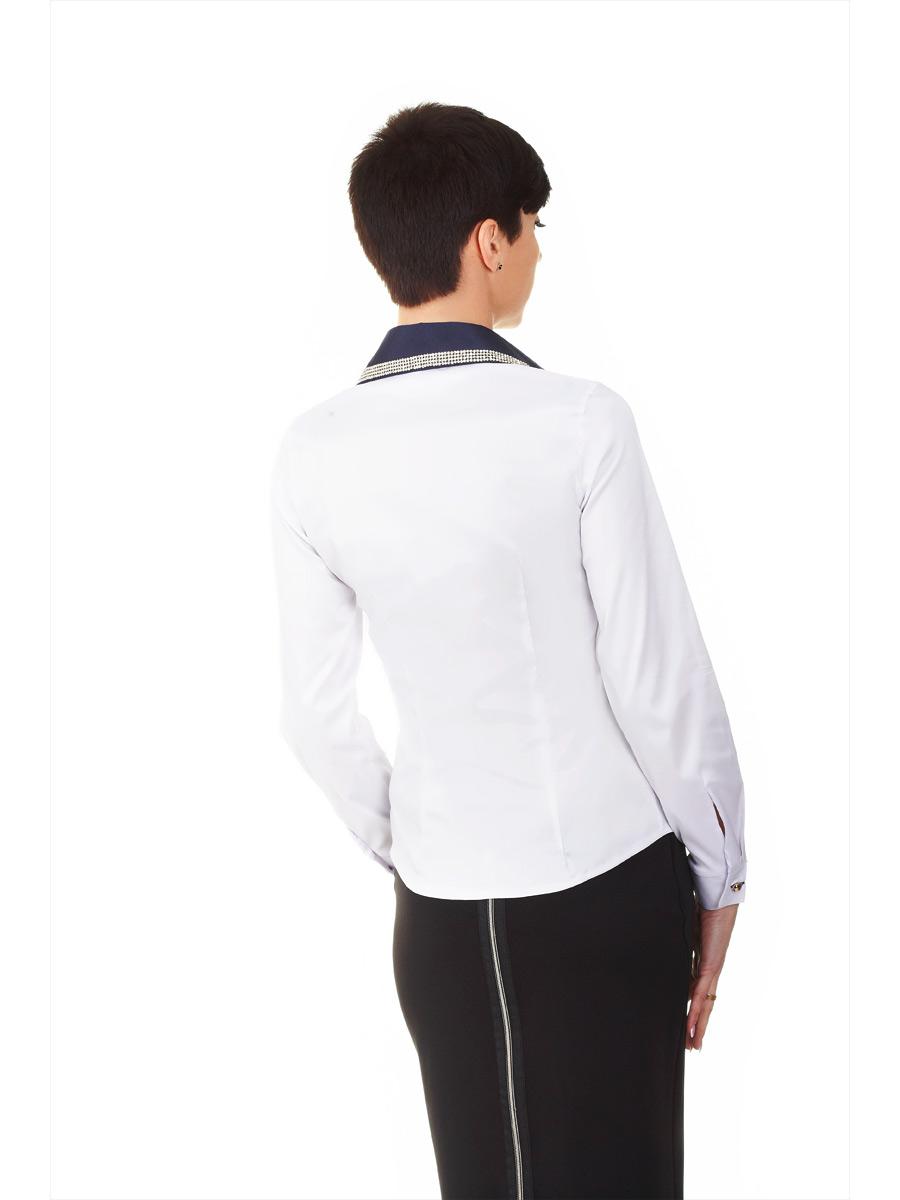 Белая блузка полиэстер купить